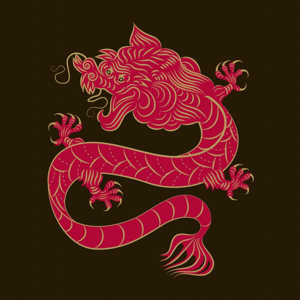 китайский дракон картинки для телефона жизнь оказалась