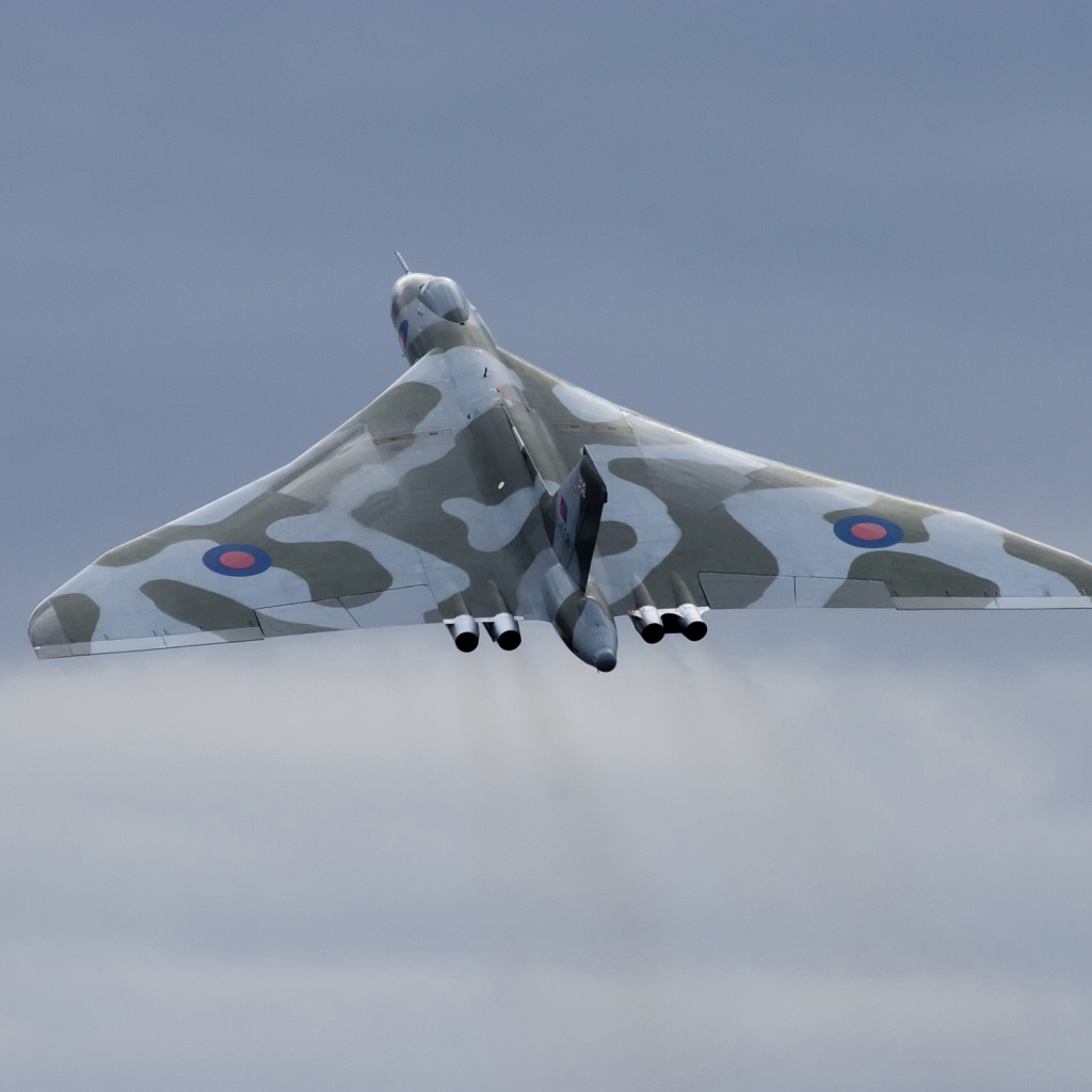 Обои Vulcan, Самолёт, bomber. Авиация foto 7