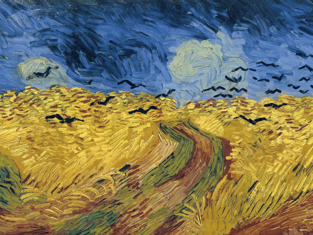 an introduction to the analysis of crows over a wheatfield by vincent van gogh