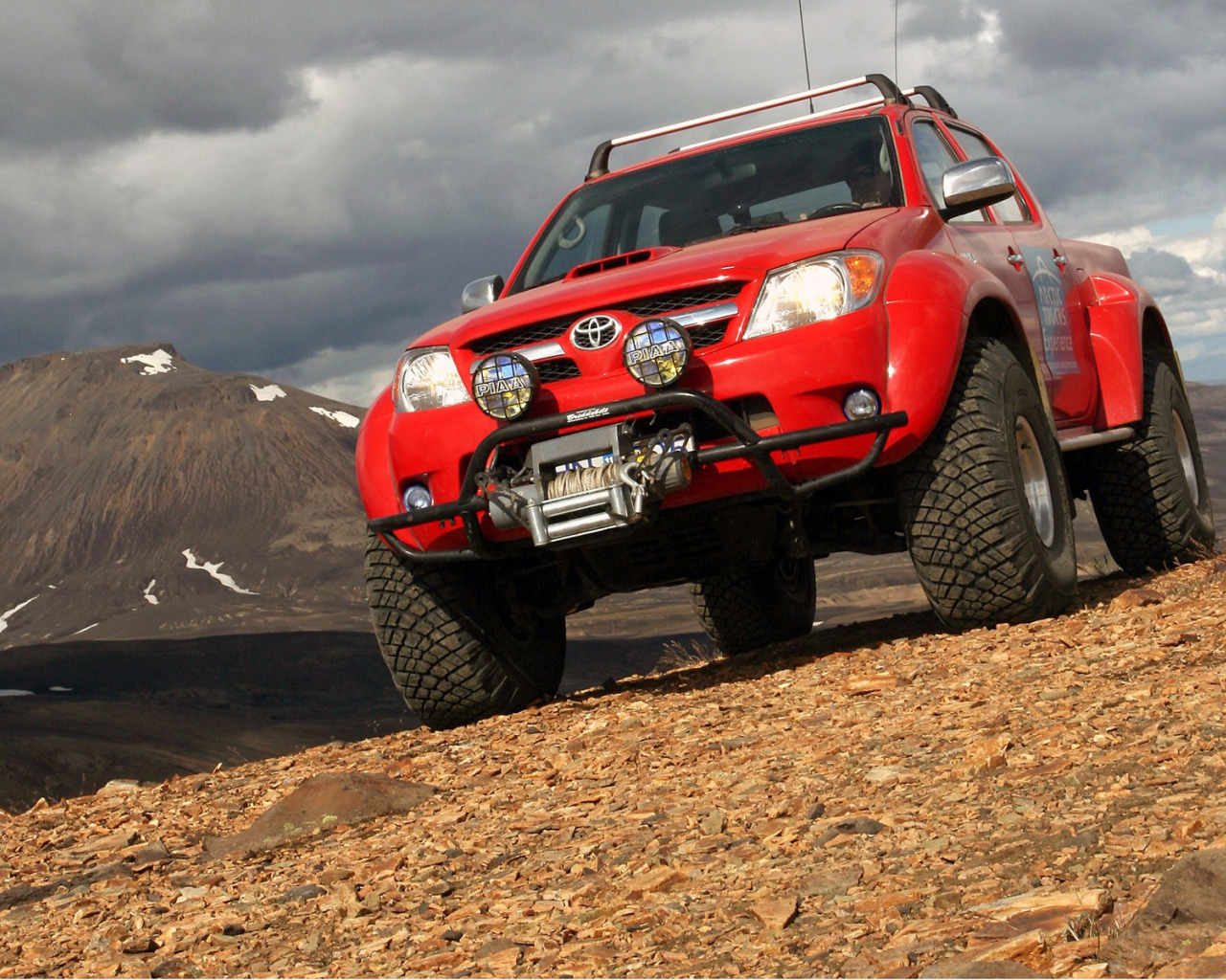 Toyota Hilux tuning #11