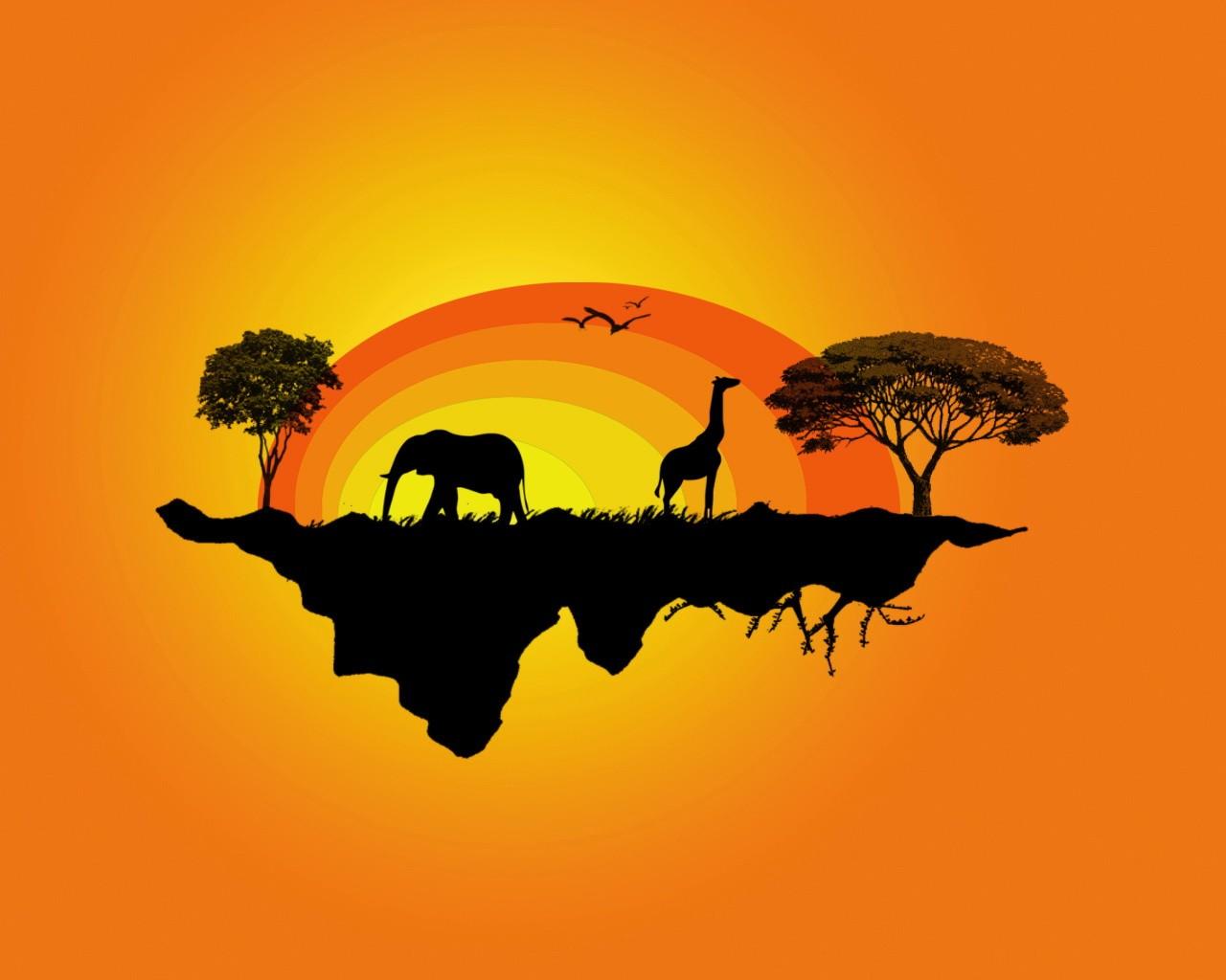 картинка с надписью африка разница том, что