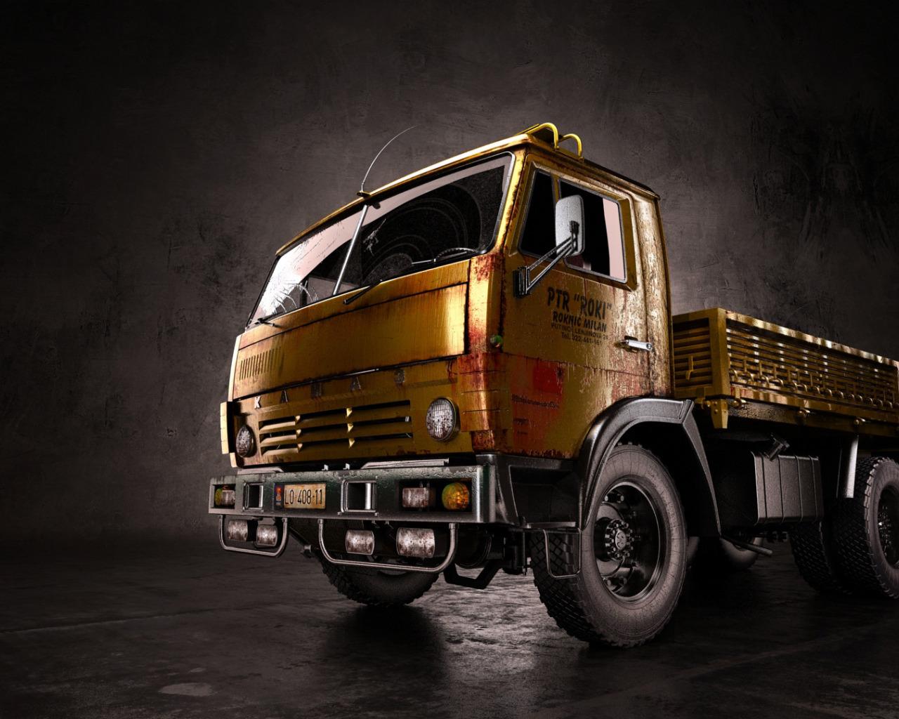 грузовики камаз фотообои слову, недавнего времени