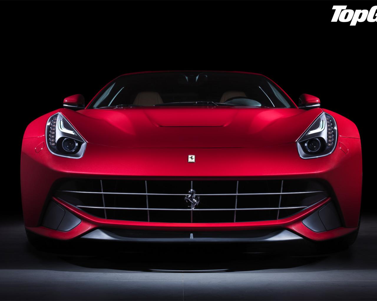 Ferrari F12 дорога забор  № 2437993 бесплатно