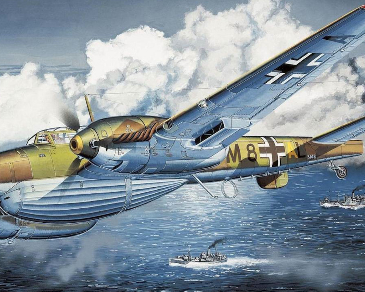 картинки немецкой авиации установки фотосетки заборе