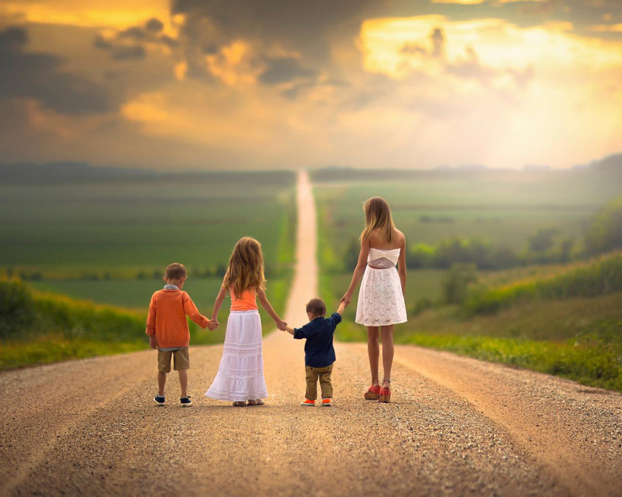 Красивые картинки про семью про счастье