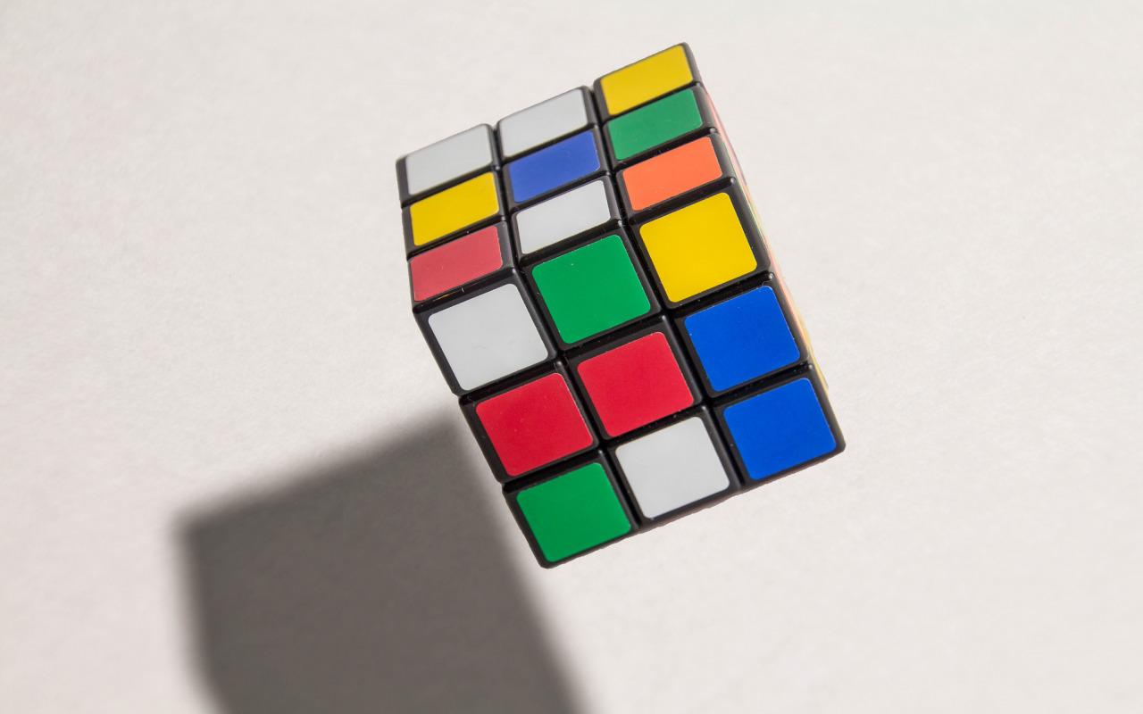 Правильная расцветка кубика рубика картинки