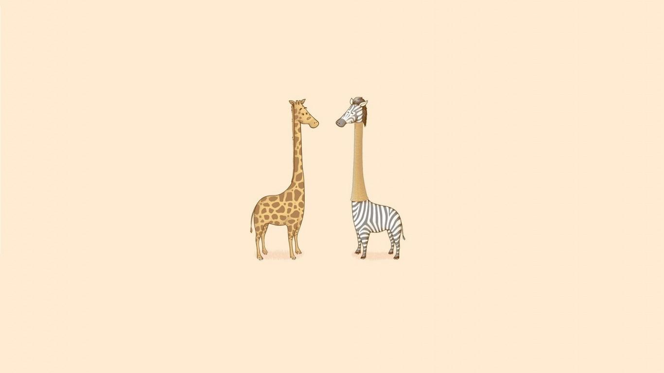 Обои для рабочего стола бесплатно жирафы