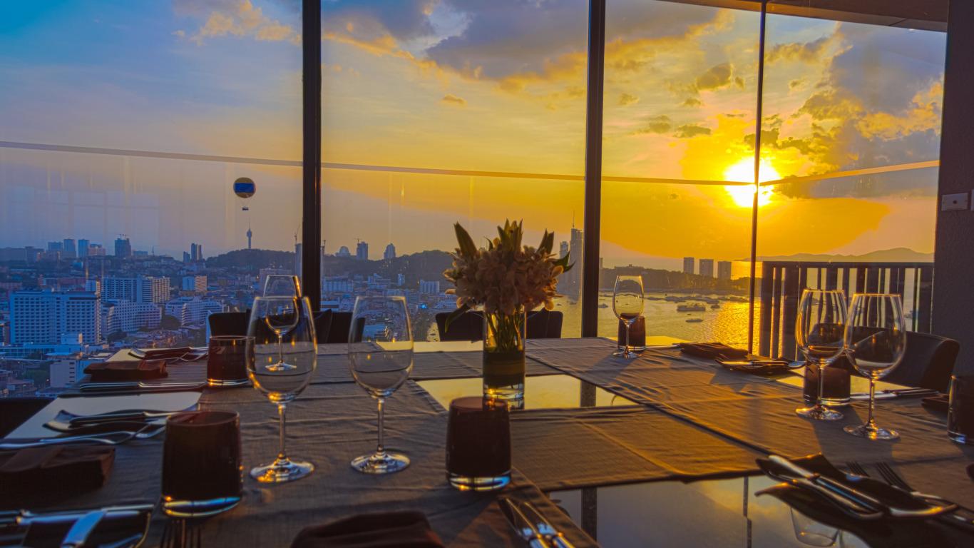 Ресторан 41 этаж какой стол лучше бронировать