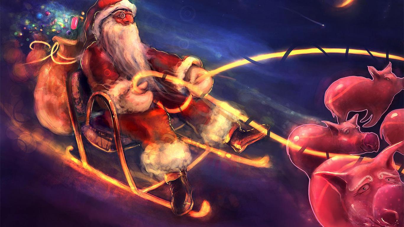 Санта-Клаус  № 967514  скачать