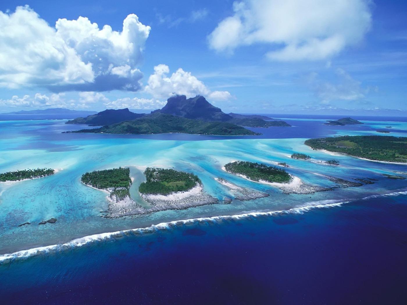 Фото островов на экран телефона