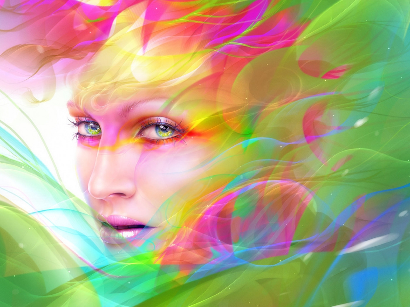 Картинки абстракция лицо