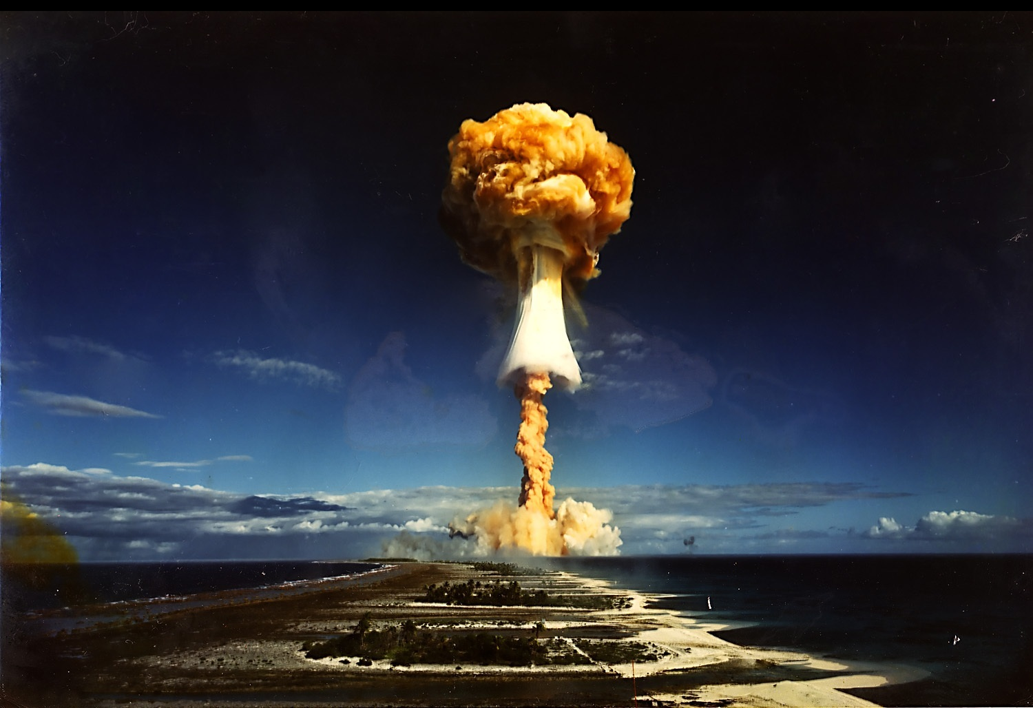 """the power of the mushroom cloud in the past and the present Theories of conflict and the iraq war  and from past ties to saddam hussein  """"mushroom cloud"""" that iraq could unleash and its contentions about iraq's."""