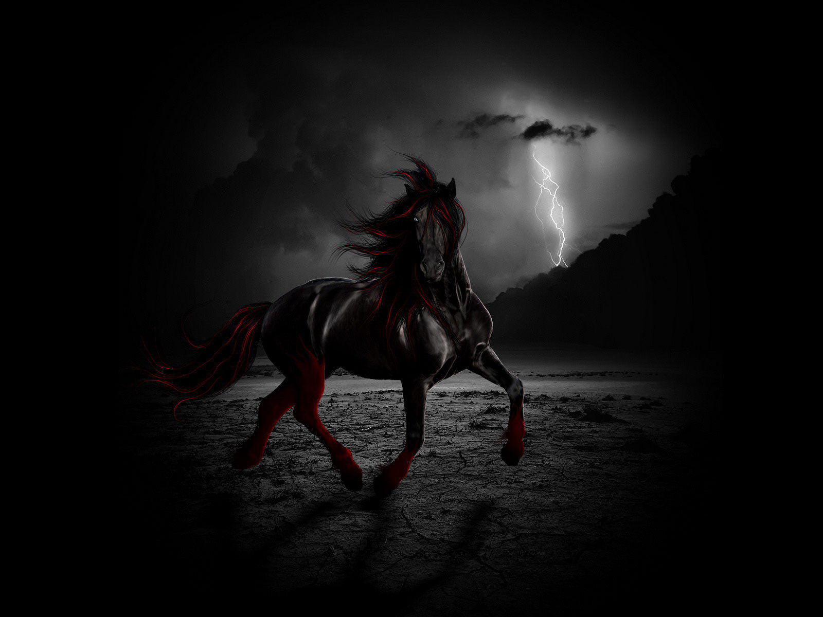 Если вы видите, что ваша лошадь - грязная, то возможны обман и зависть со стороны тех, кому вы доверяетесь.