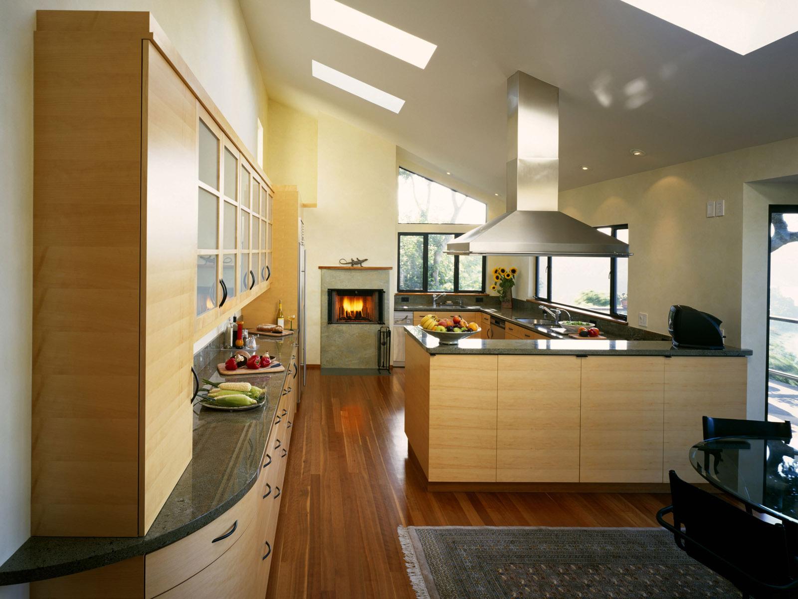 Дизайн интерьера кухня в доме