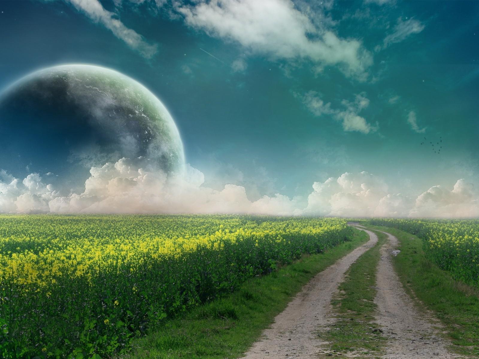 красивые картинки неба и земли