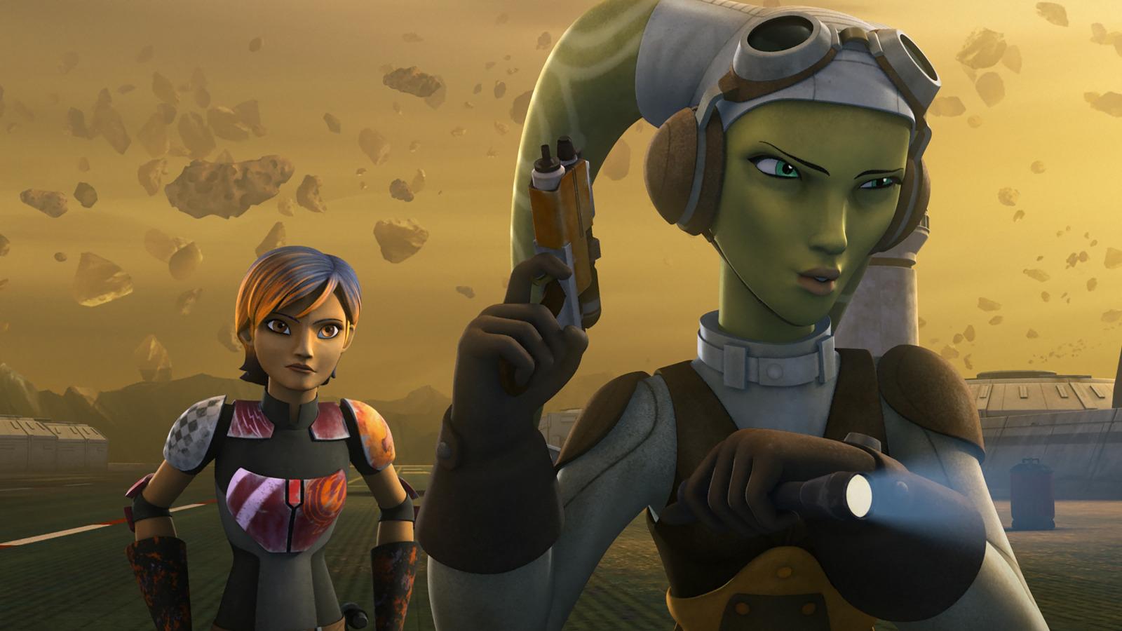 Star Wars Rebels ist eine USamerikanische Computeranimationsserie die im fiktiven StarWarsUniversum von George Lucas spielt Sie ist die Nachfolgeserie von Star