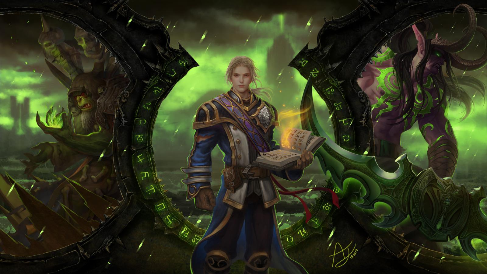 World of warcraft — дата выхода, системные требования и обзор игры.