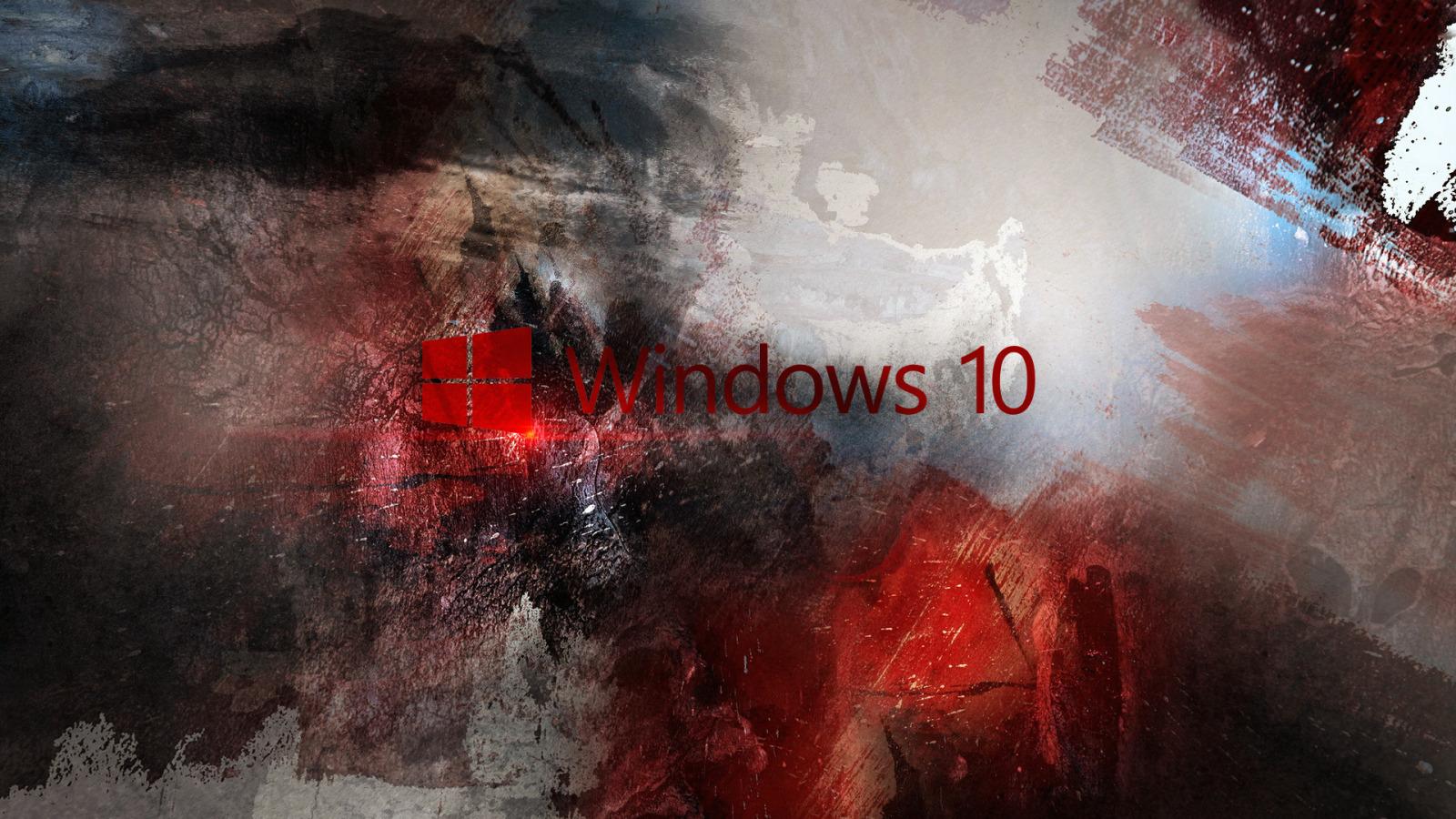 Обои виндовс, hi-tech, windows, 10, microsoft, логотип, майкрософт. Windows foto 7