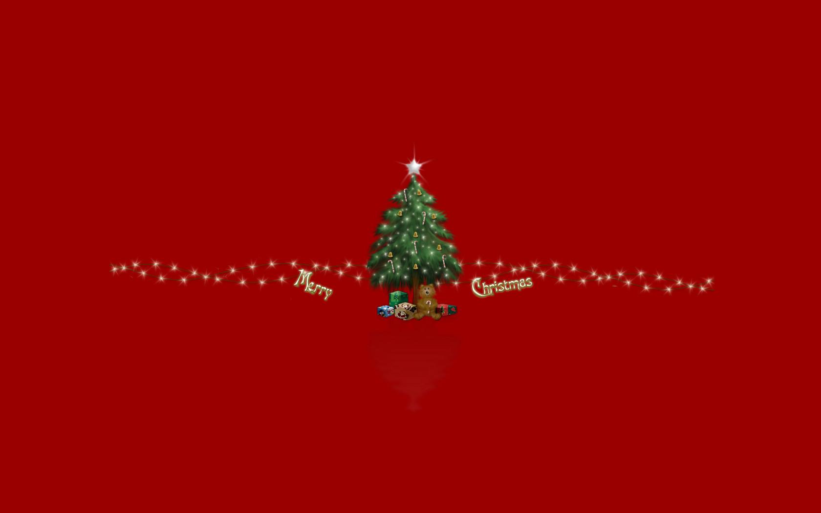 Открытки минимализм новый год
