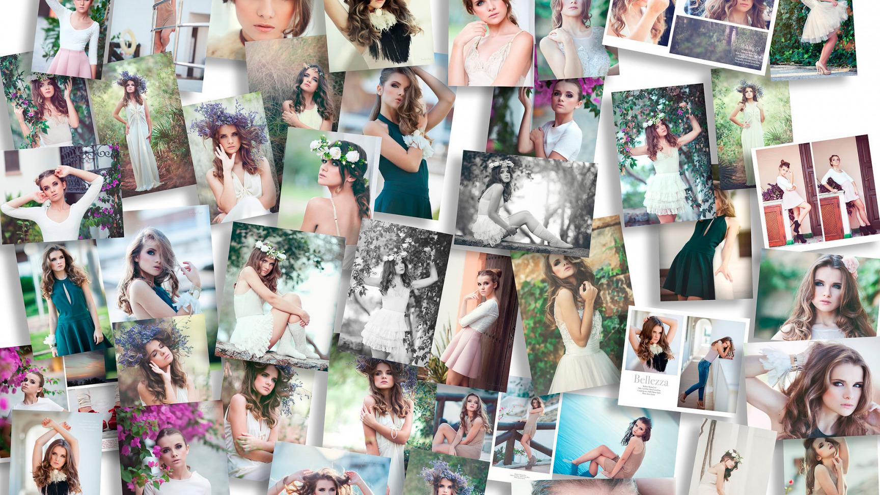 Как самой сделать фотоколлаж