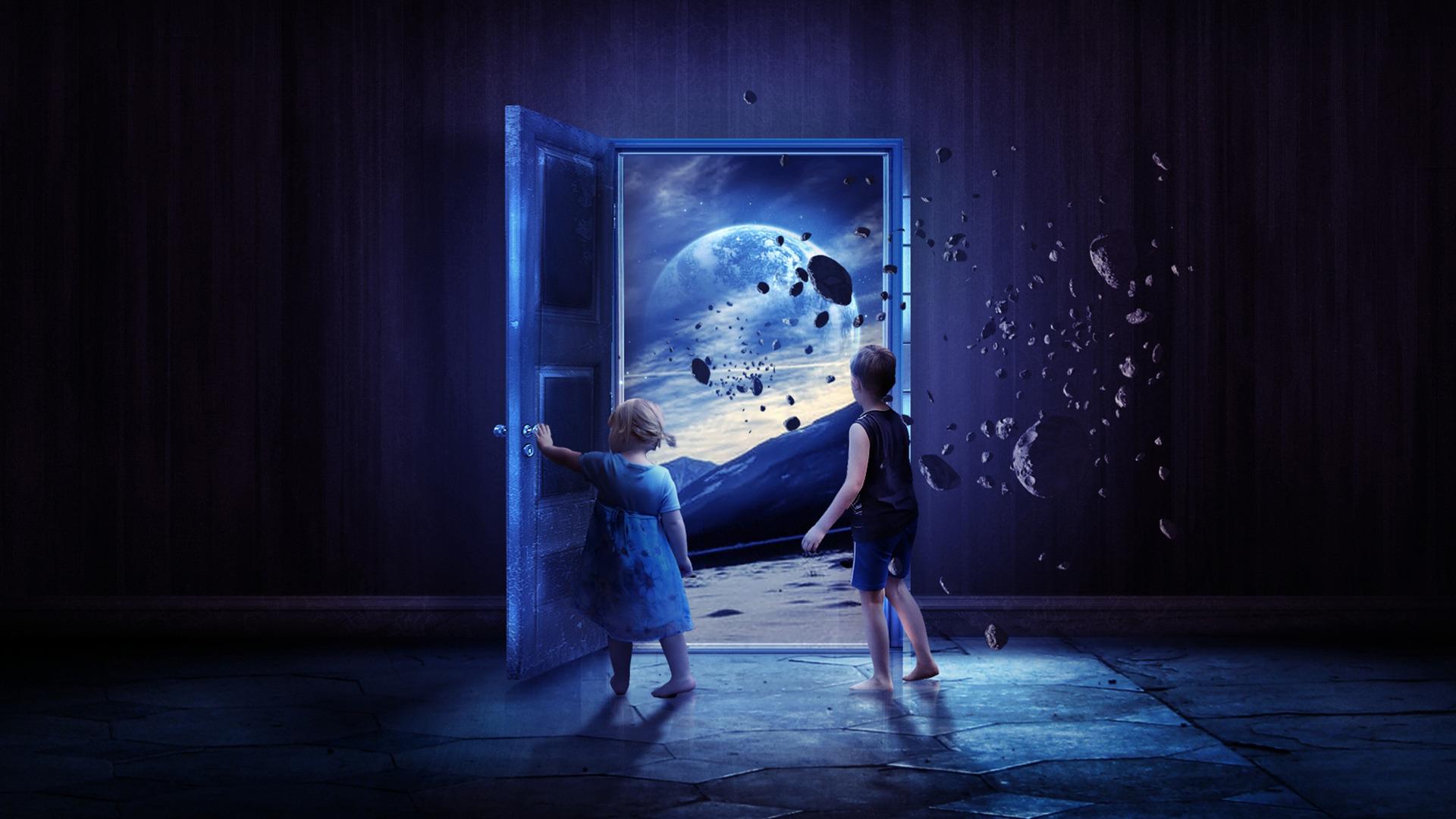 Картинки дверь во вселенную