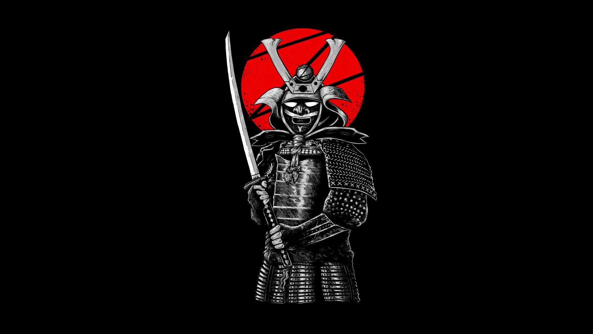 лучшие картинки самураев на телефон