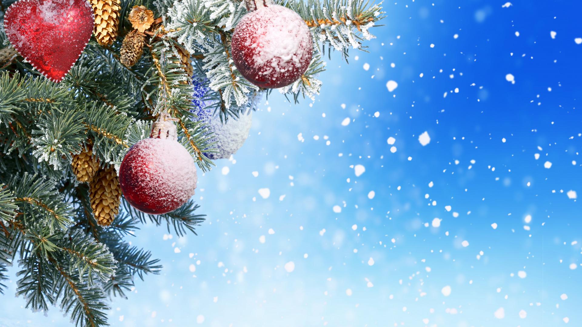 Фон для красивой открытки с новым годом