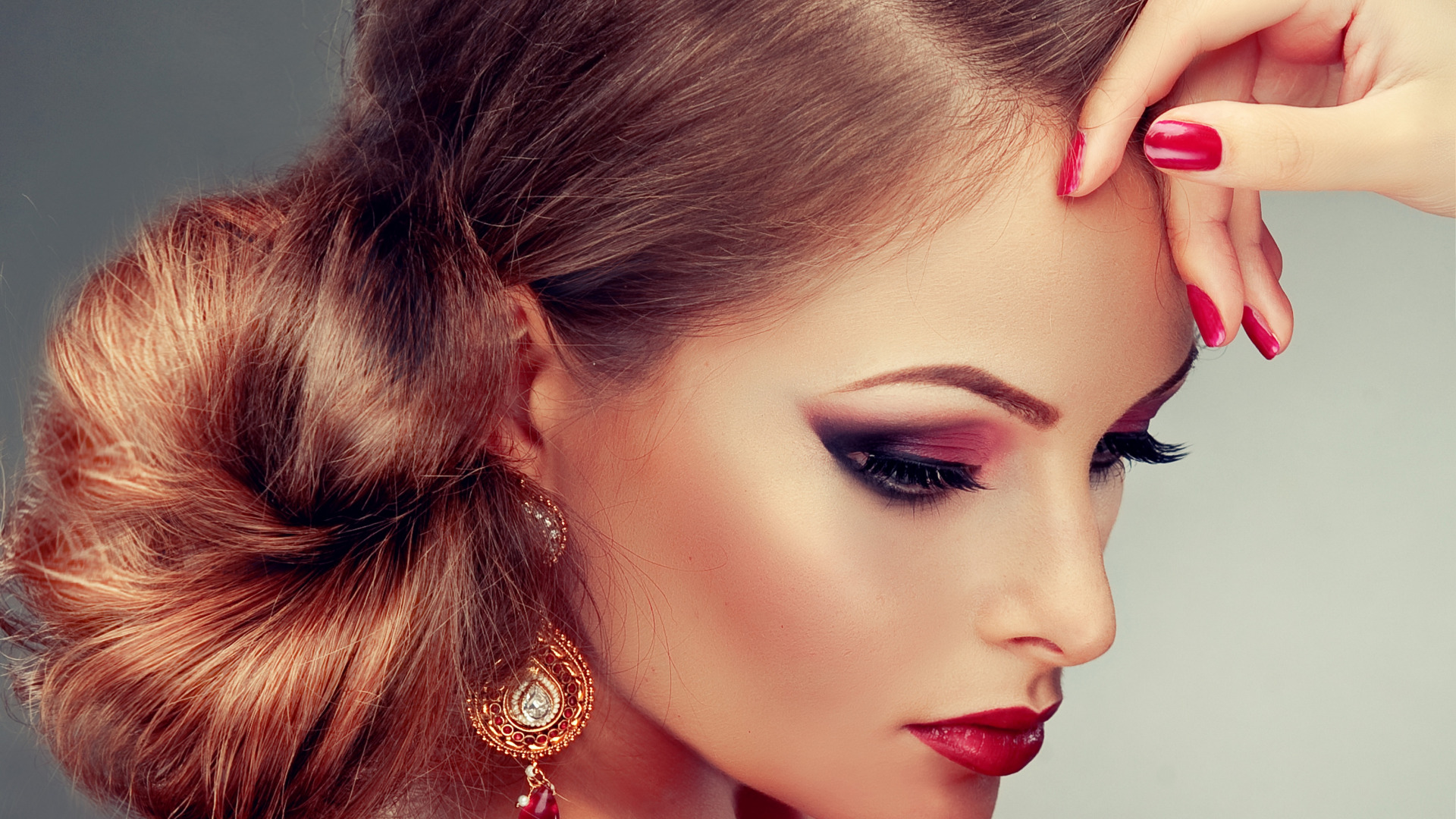 Прически и макияж к моему лицу по фото