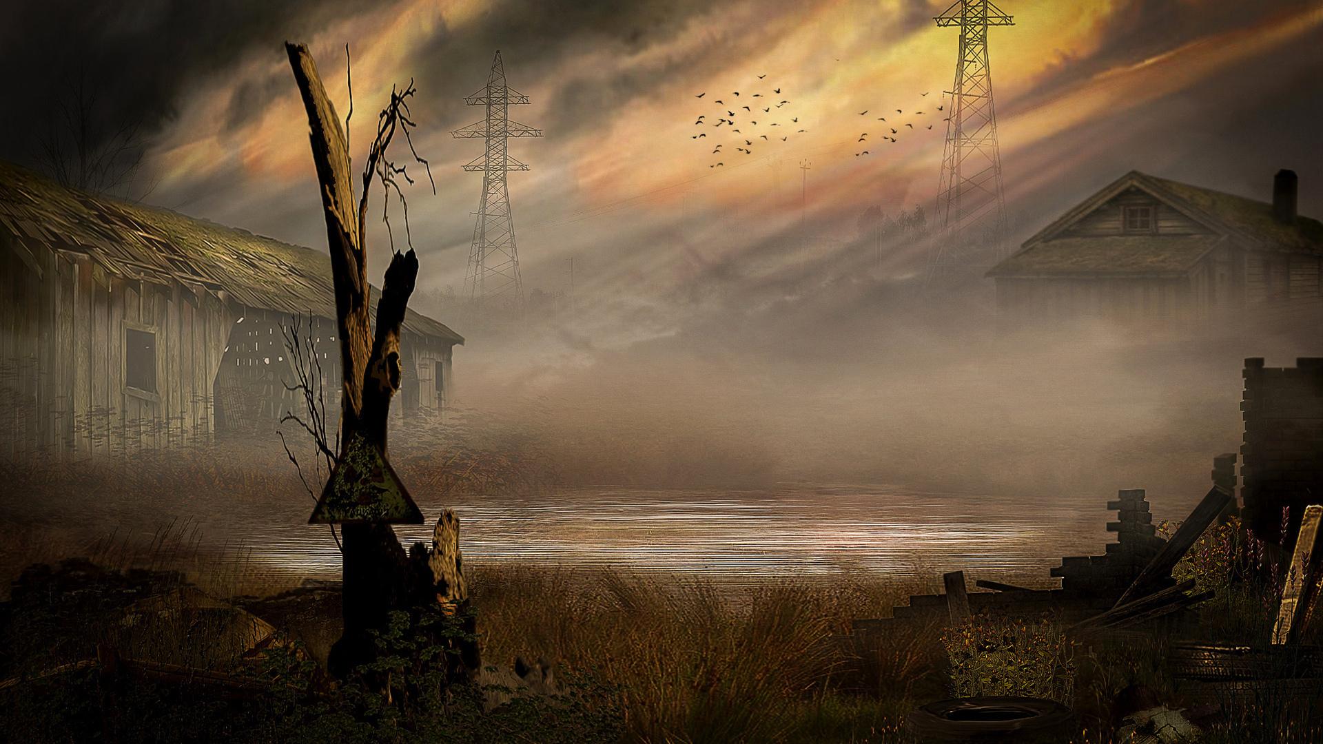 Картинки сталкер пейзажи