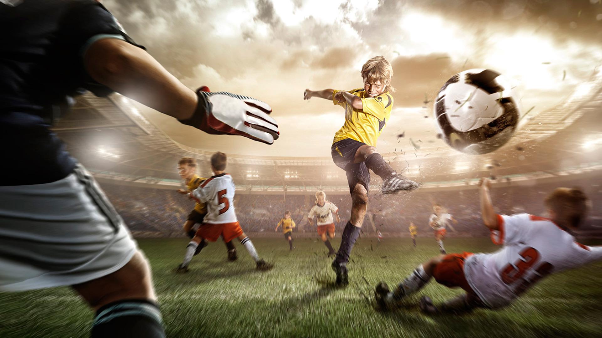 Картинки в движении футбол