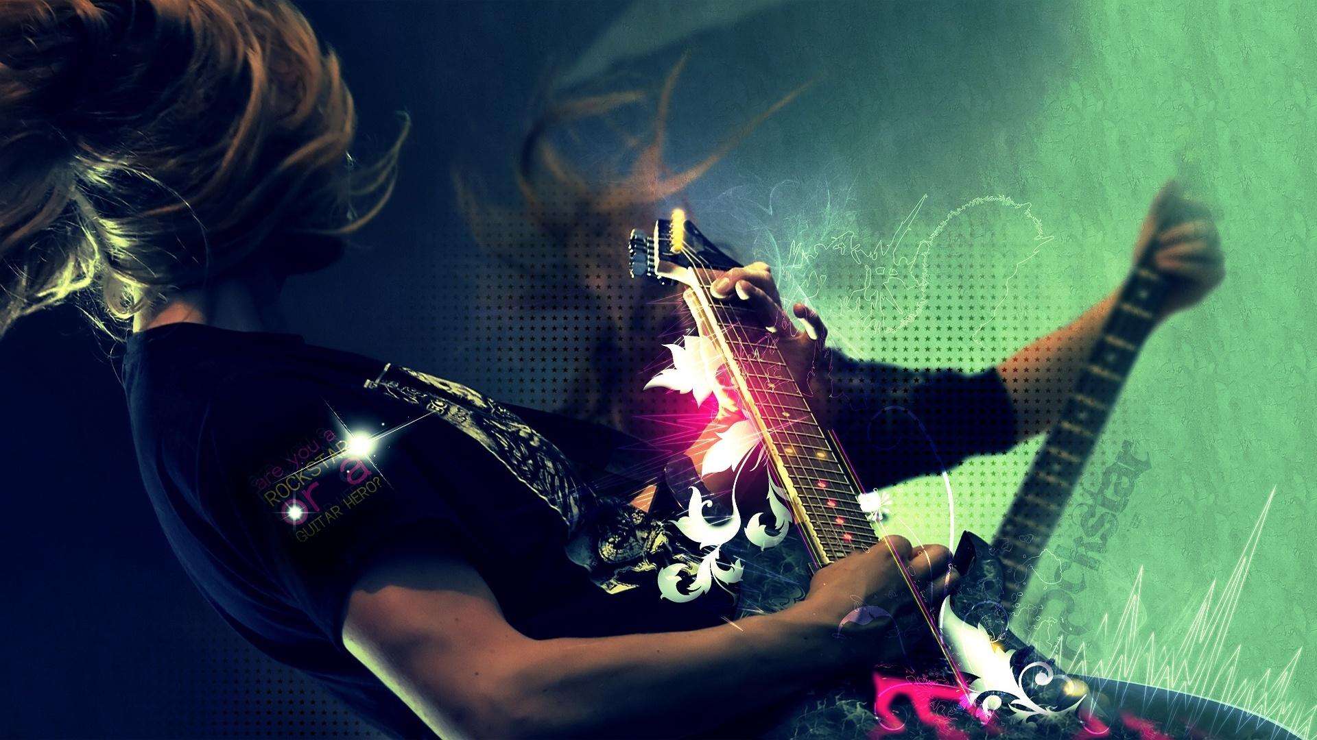 Музыкальные рок картинки, летием женщине