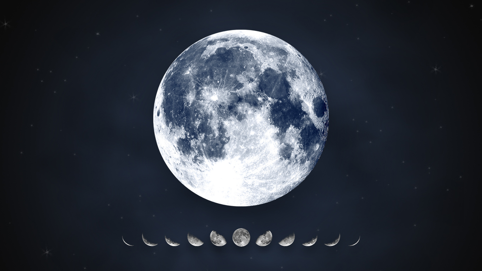 Днем ангела, луна в картинках