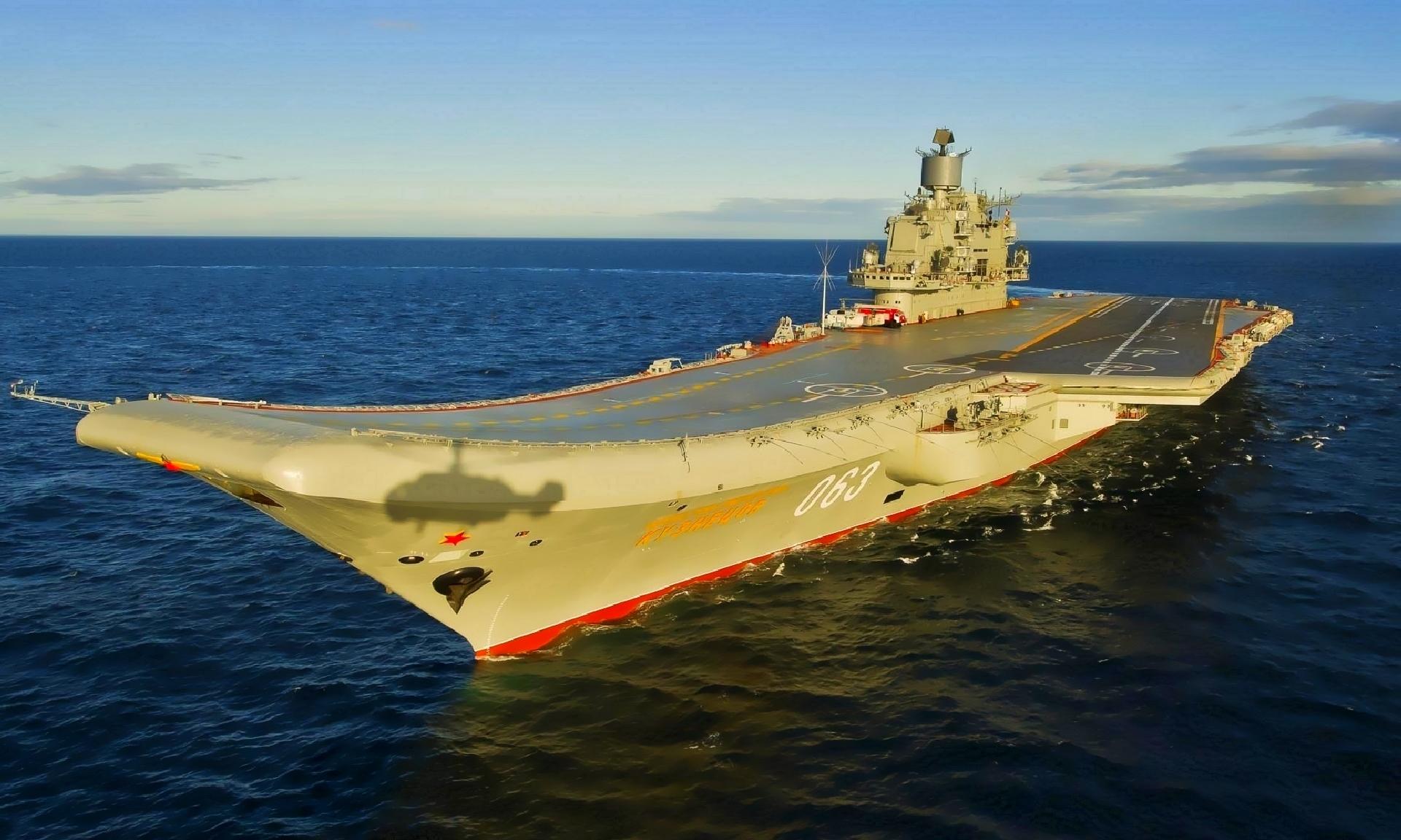 линии российские авианосцы фото так