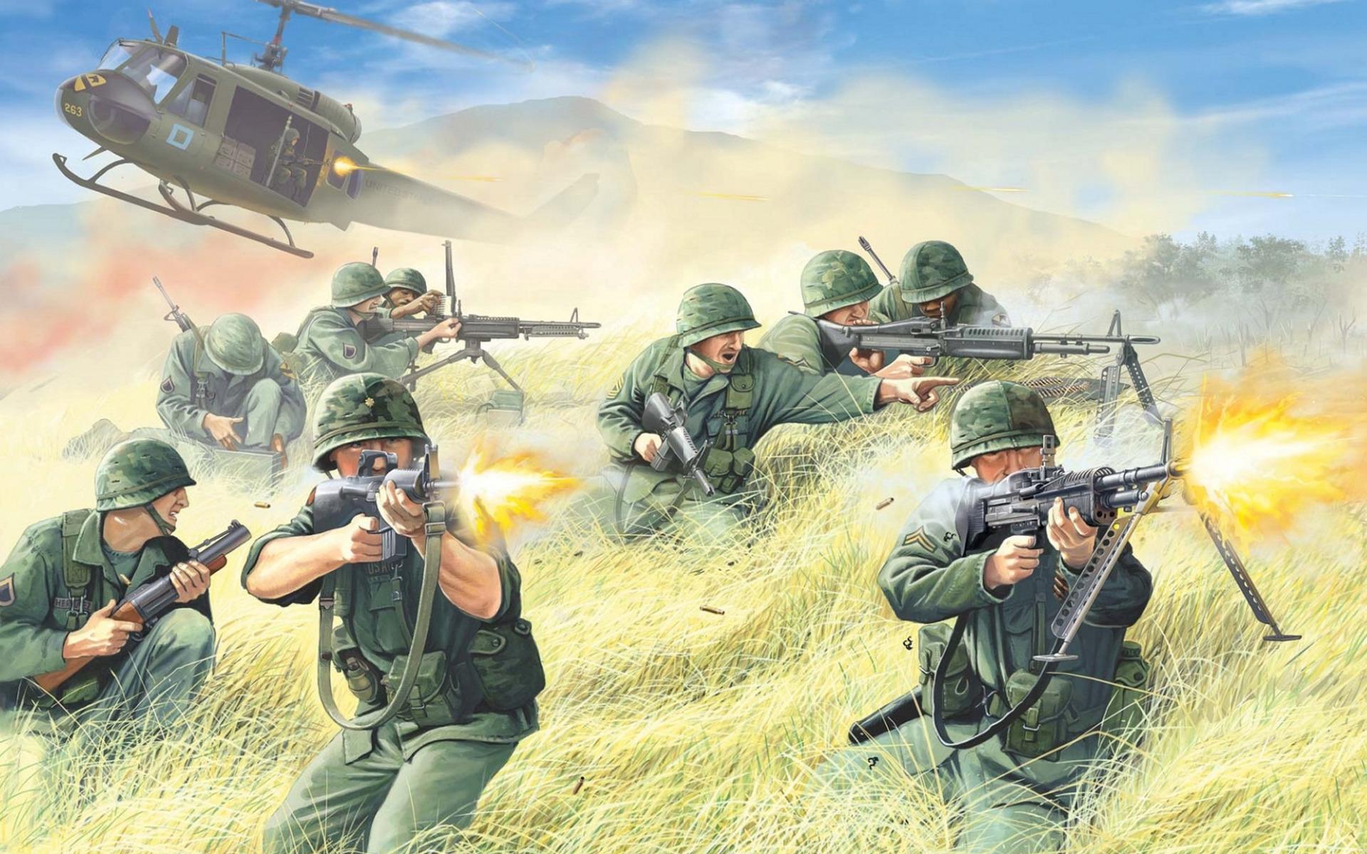 Открытки армии сша