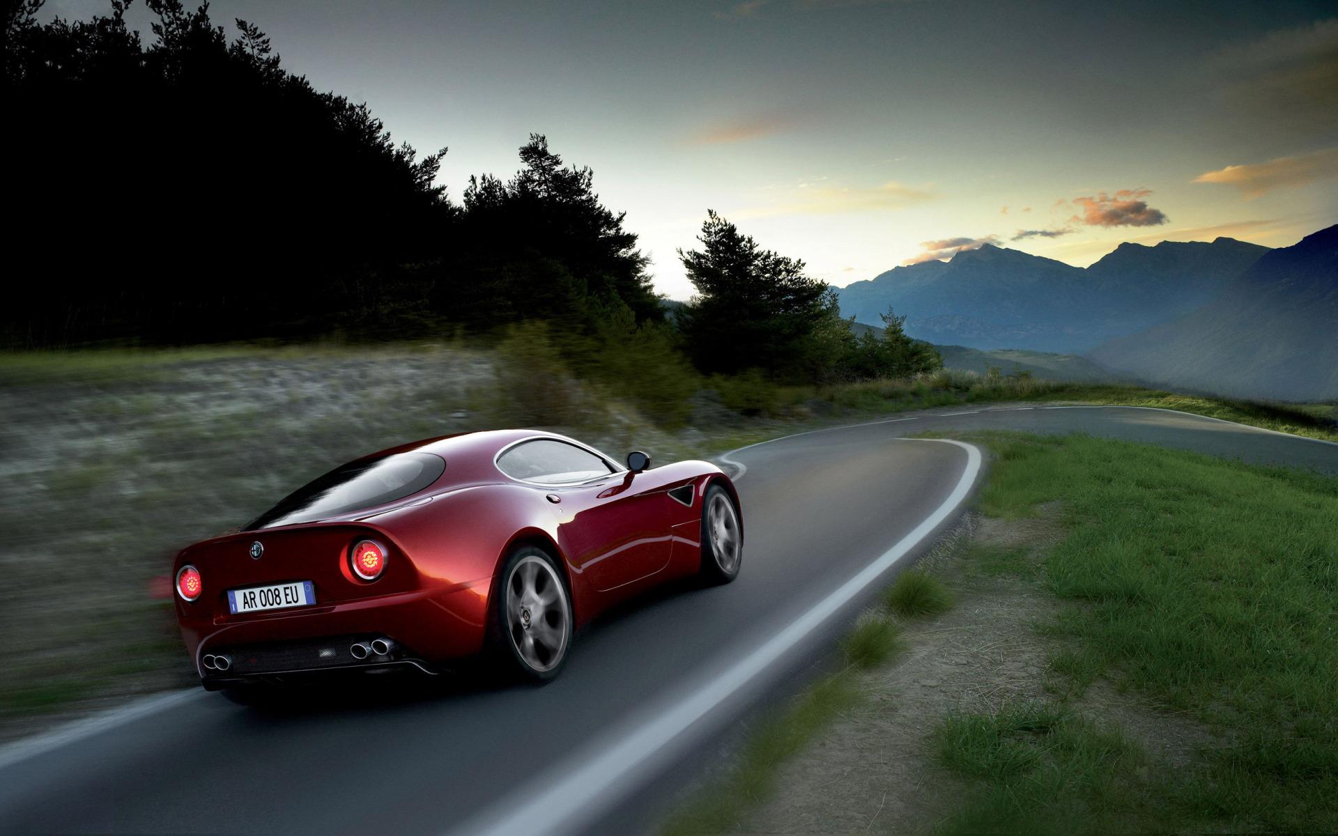 Alfa Romeo Бордовая  № 2426417  скачать