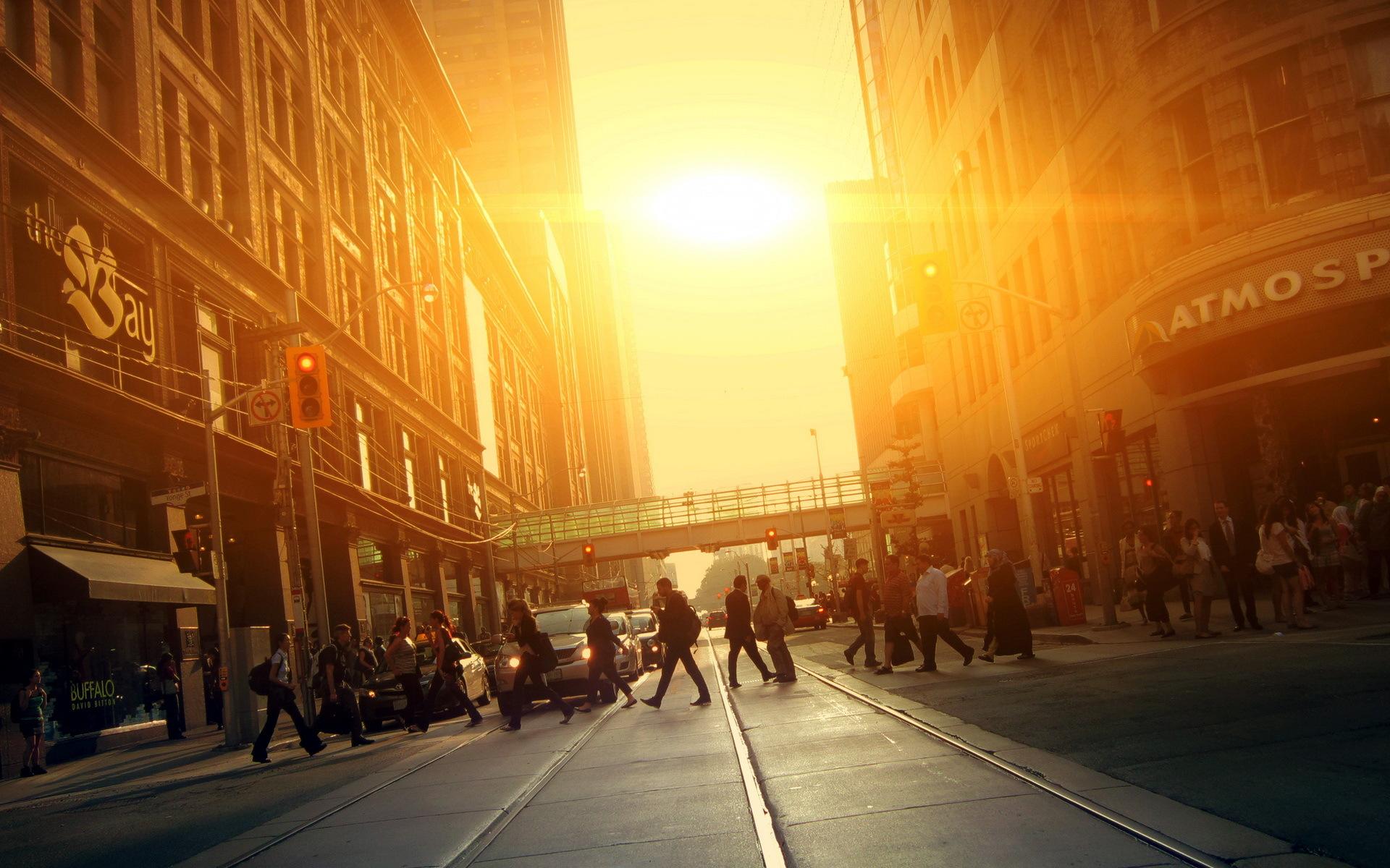 пешеходный переход красный свет  № 1504922 бесплатно