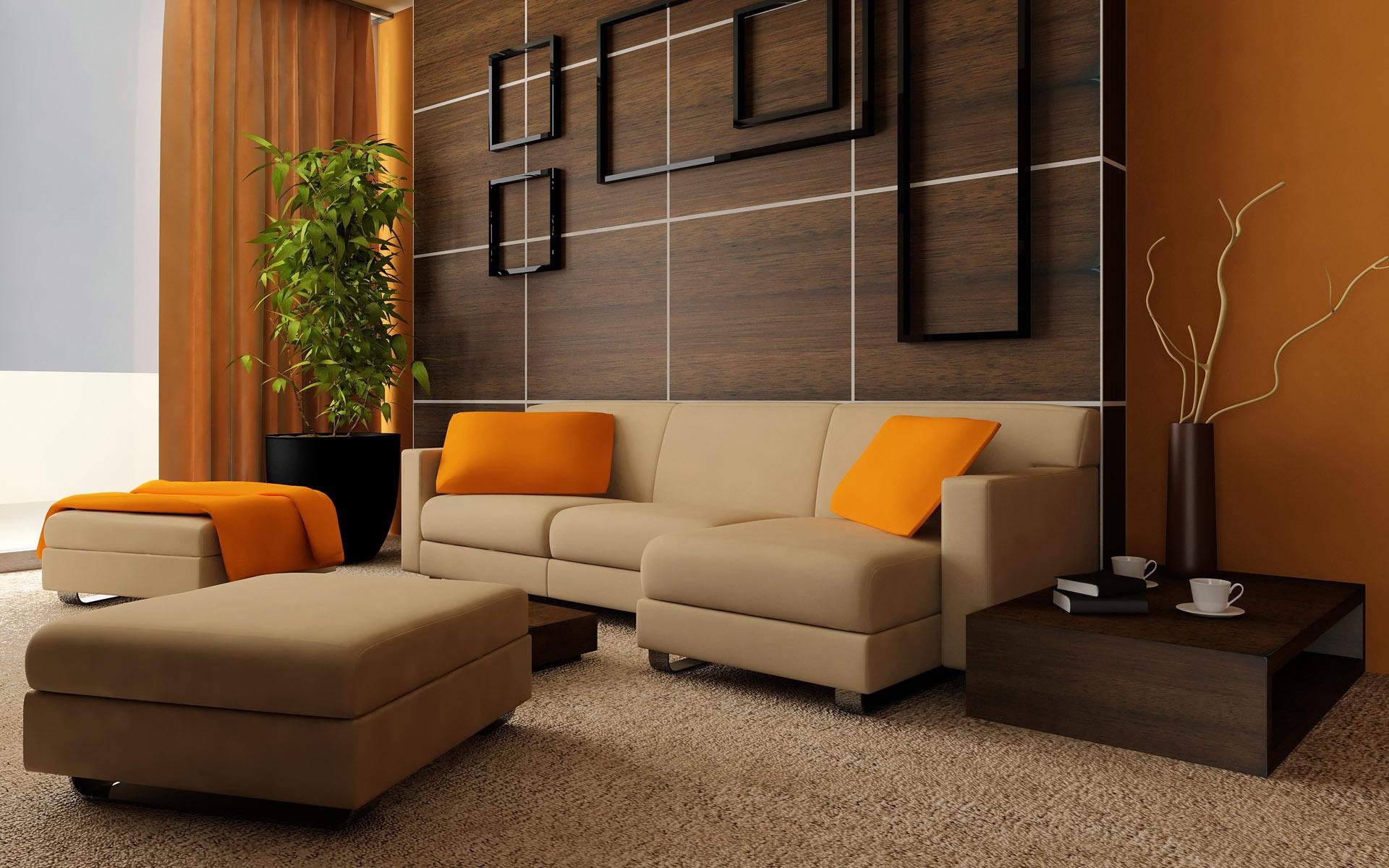 Зал мебель дизайн интерьер