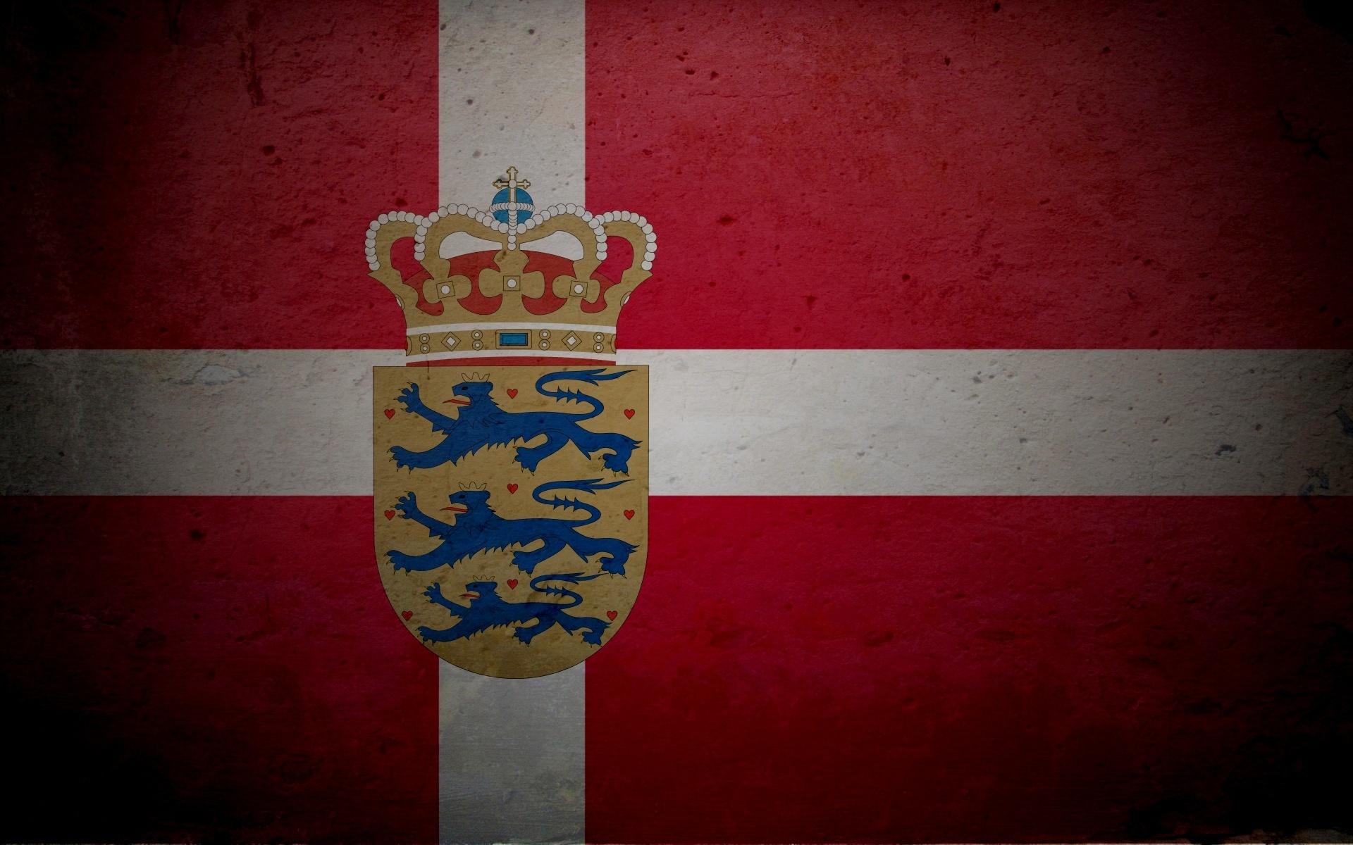 Дания картинки флаг и герб