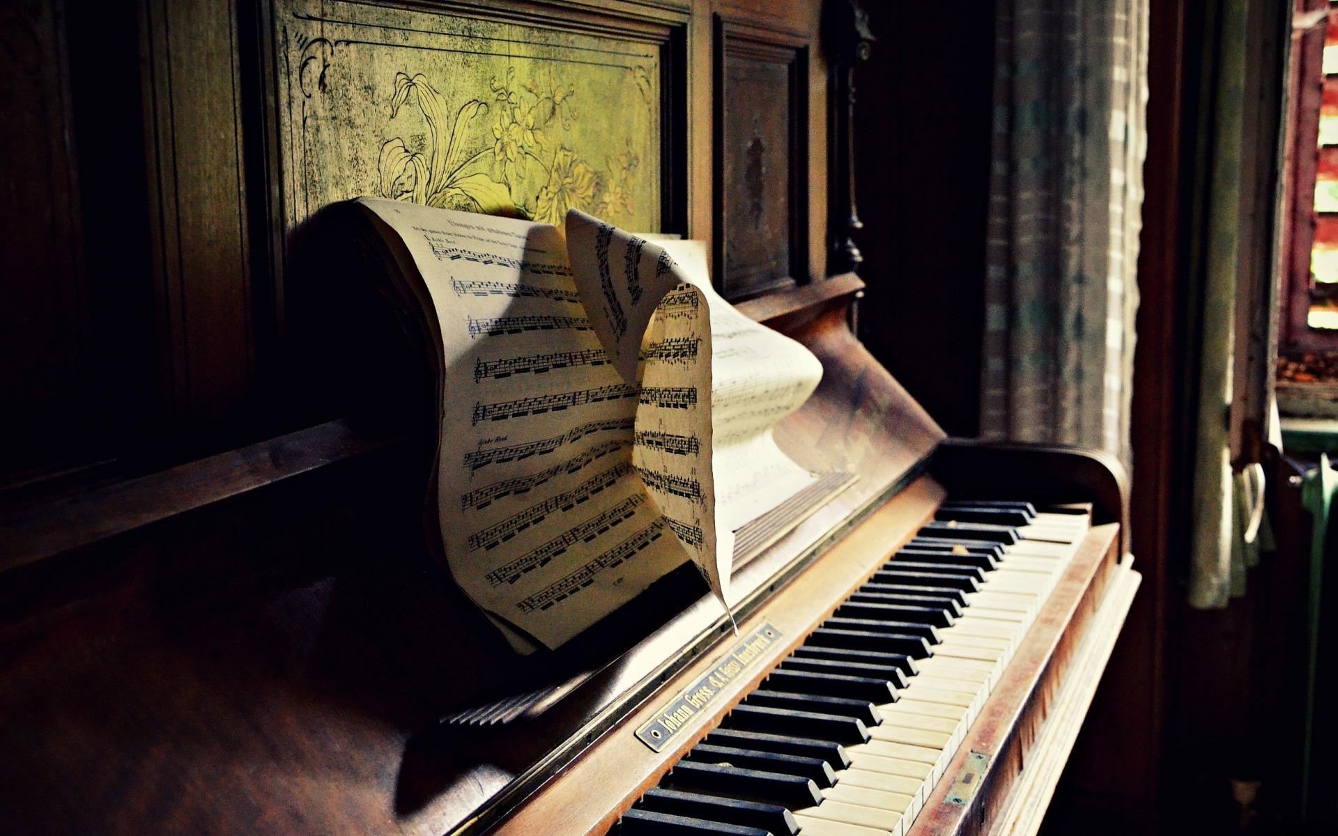 красивые картинки фортепиано ноты быть