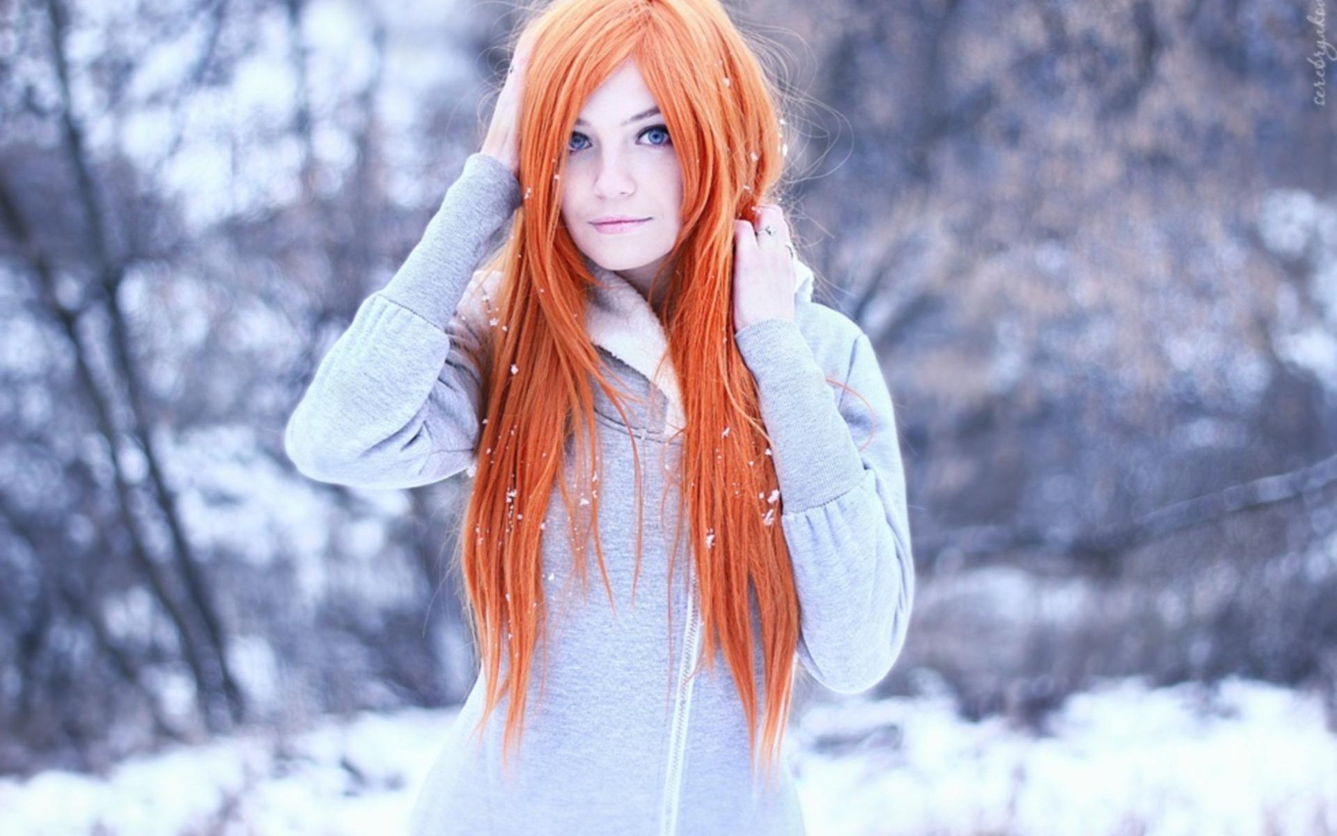 Русская рыжая девушка 24 фотография