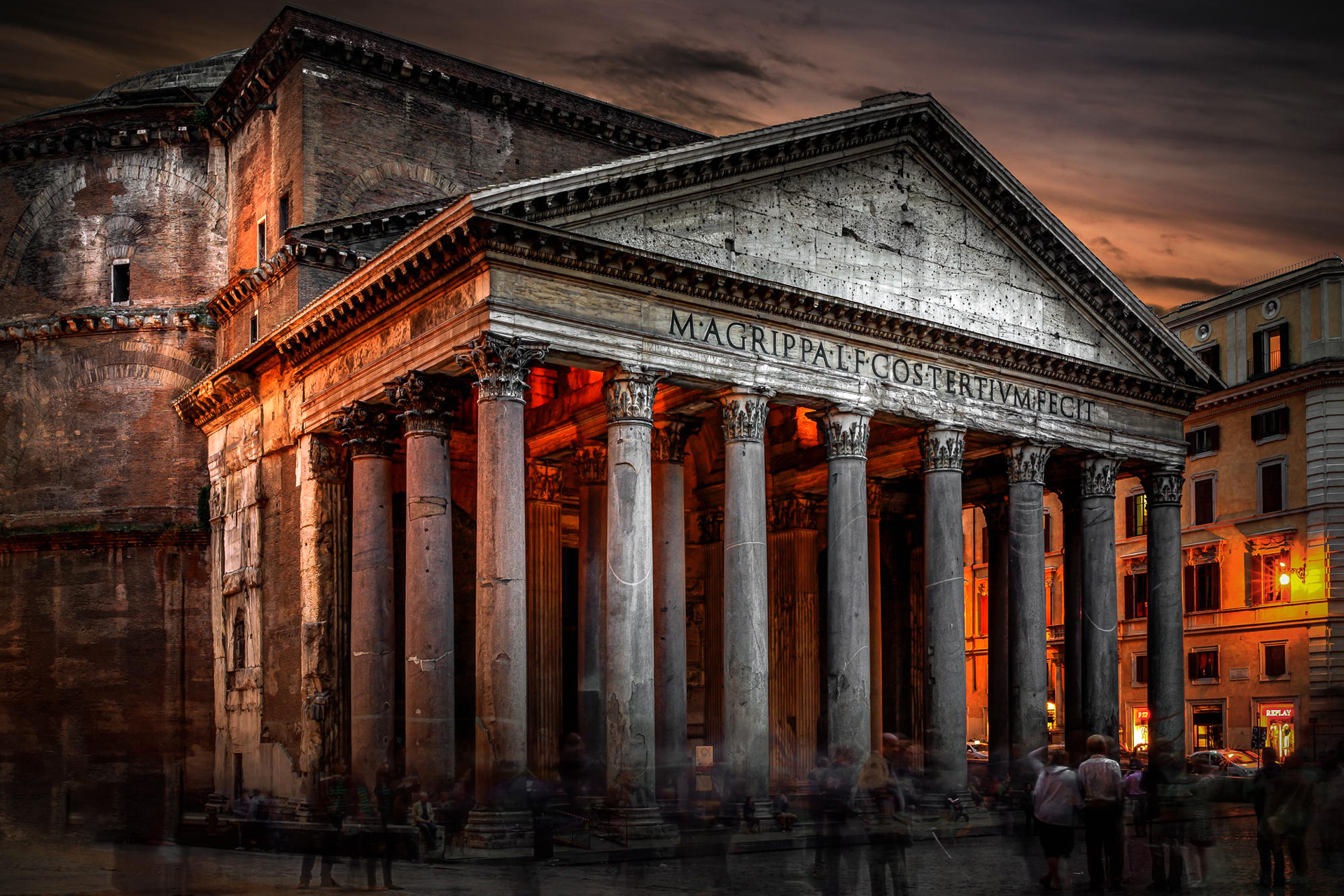 an overview of one of ancient romans finest architecture the pantheon