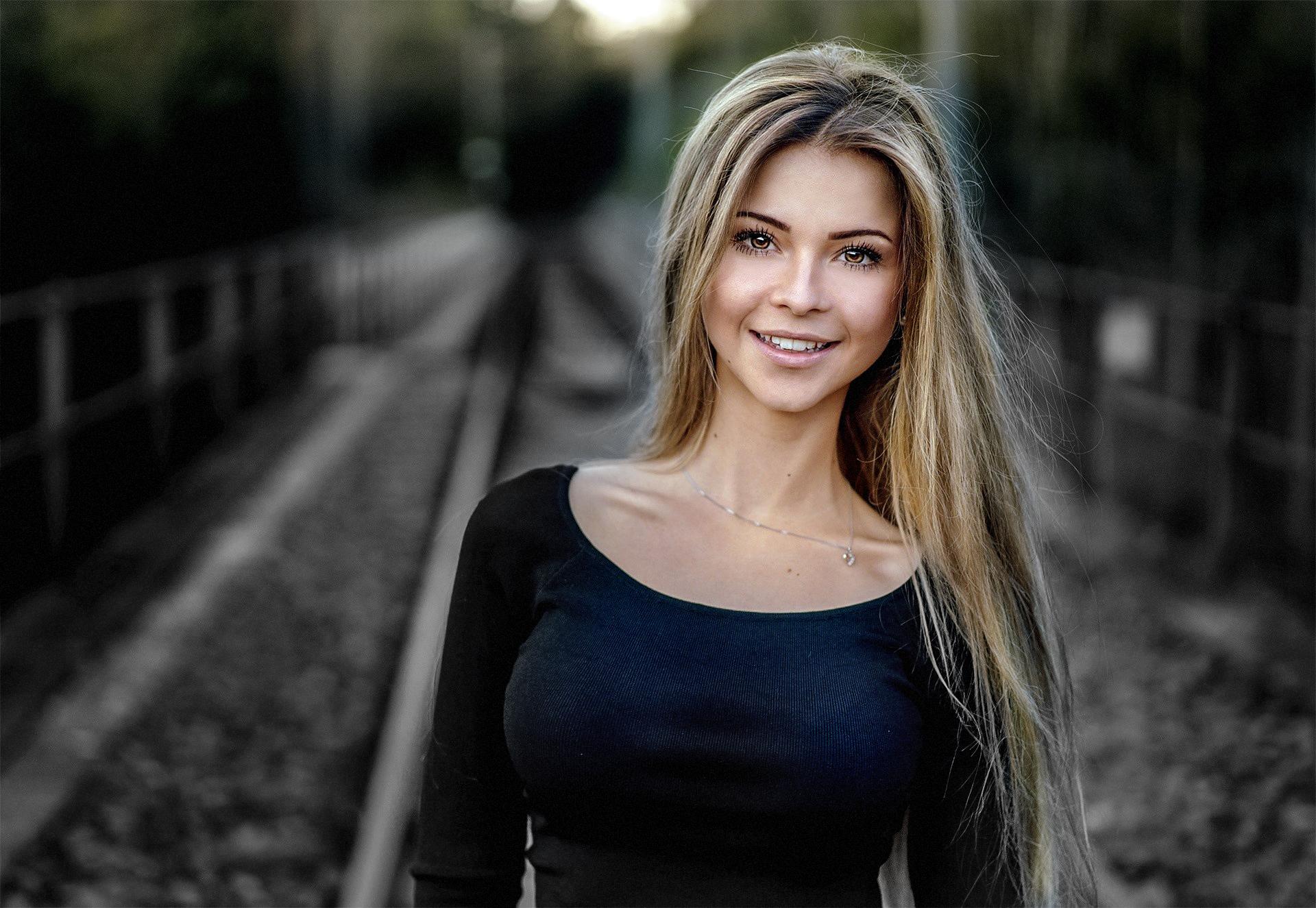 Фотографии красивых русых девчонок