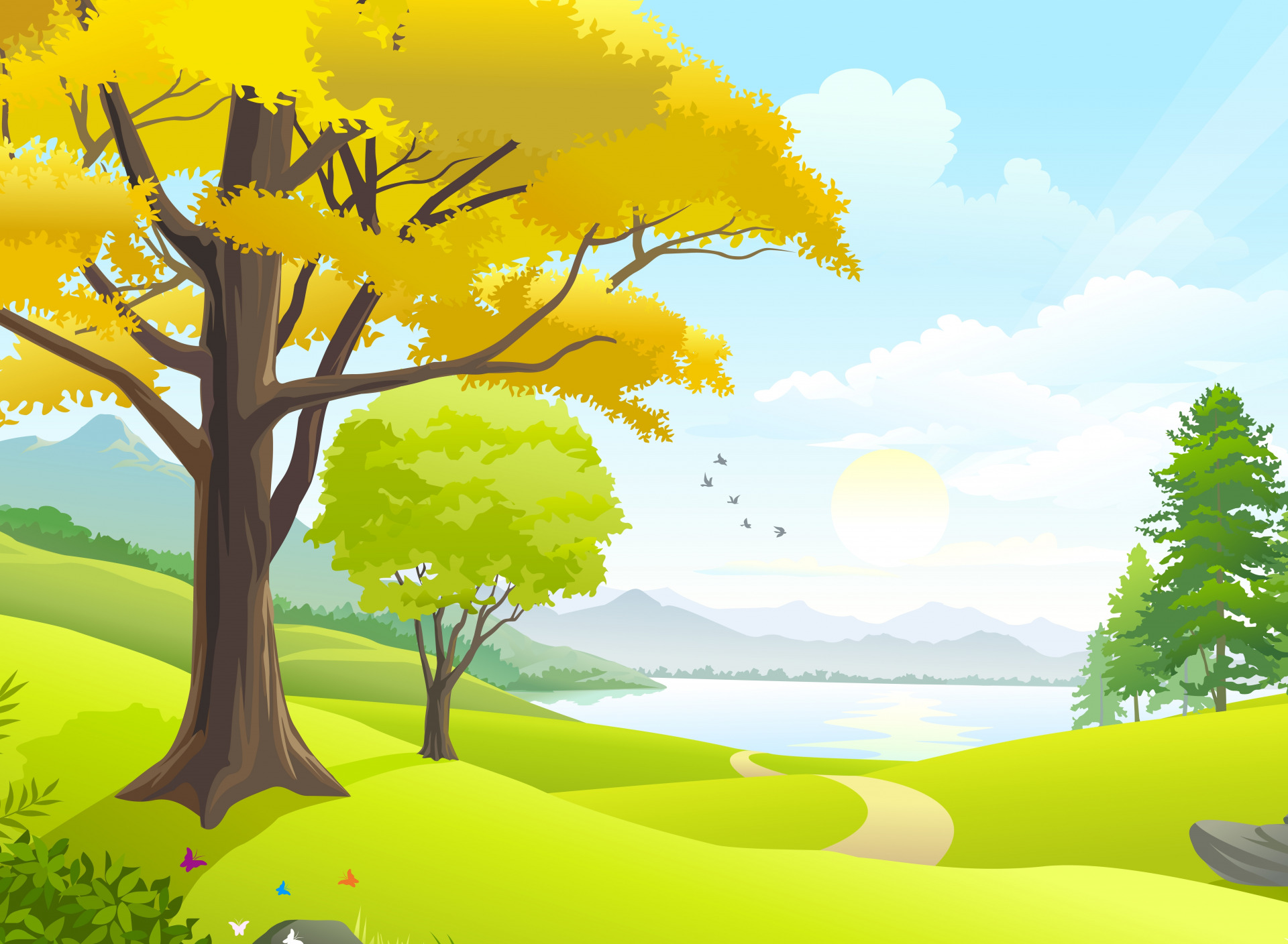 Картинки природа для школы