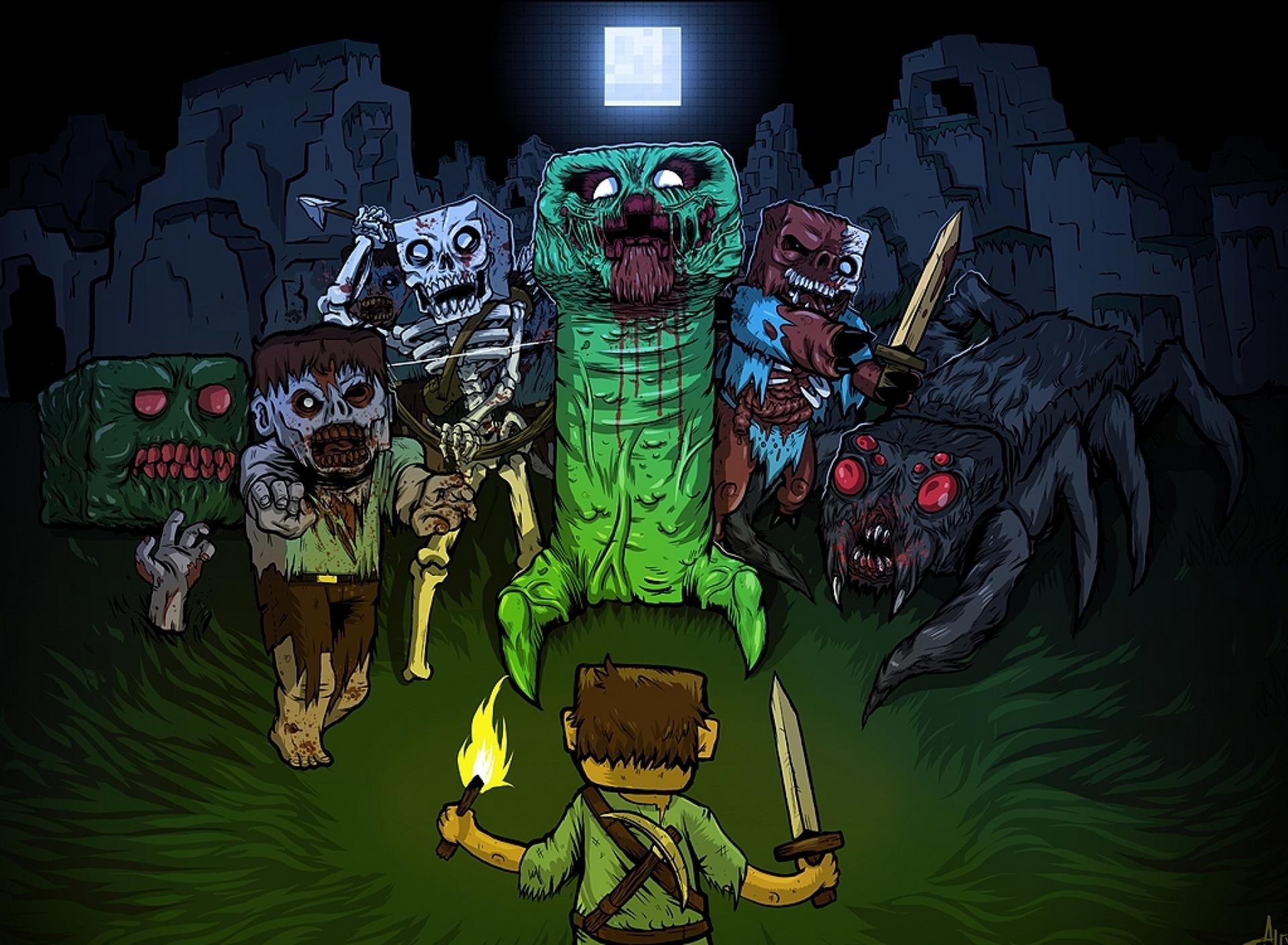 зомби игры скачать майнкрафт