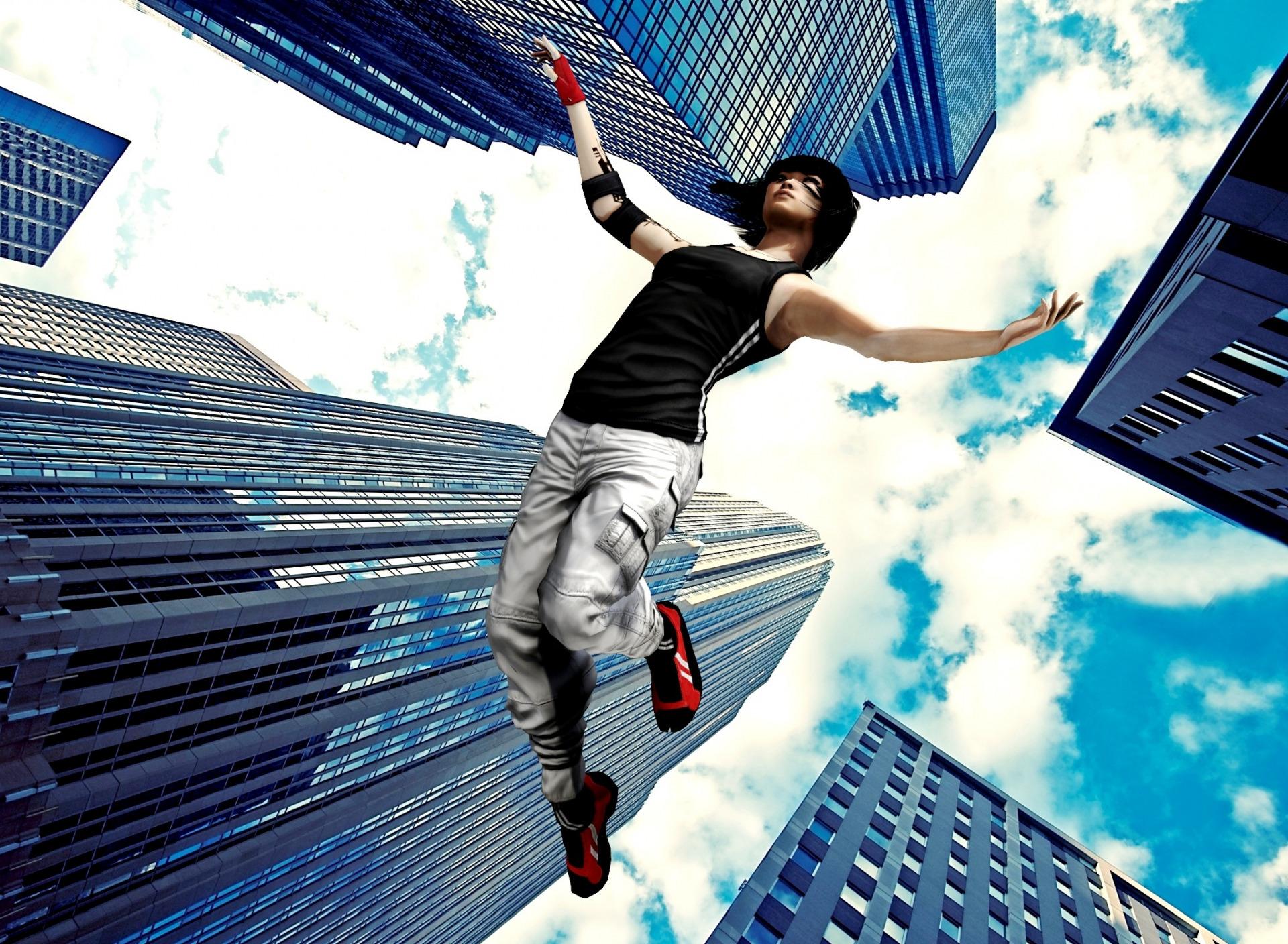 Прыжки с небоскребов русская модель большими