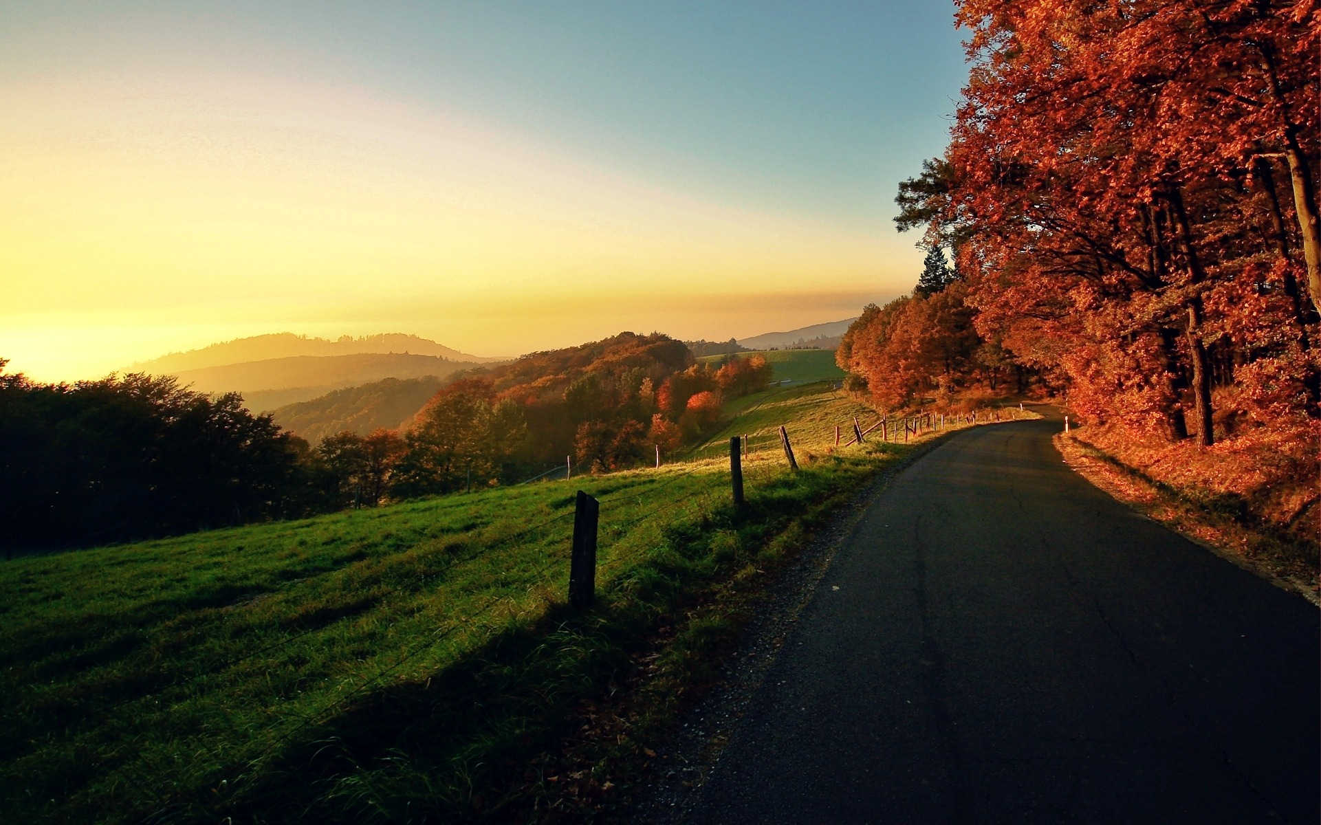дорога горизонт даль горы  № 3816683 загрузить