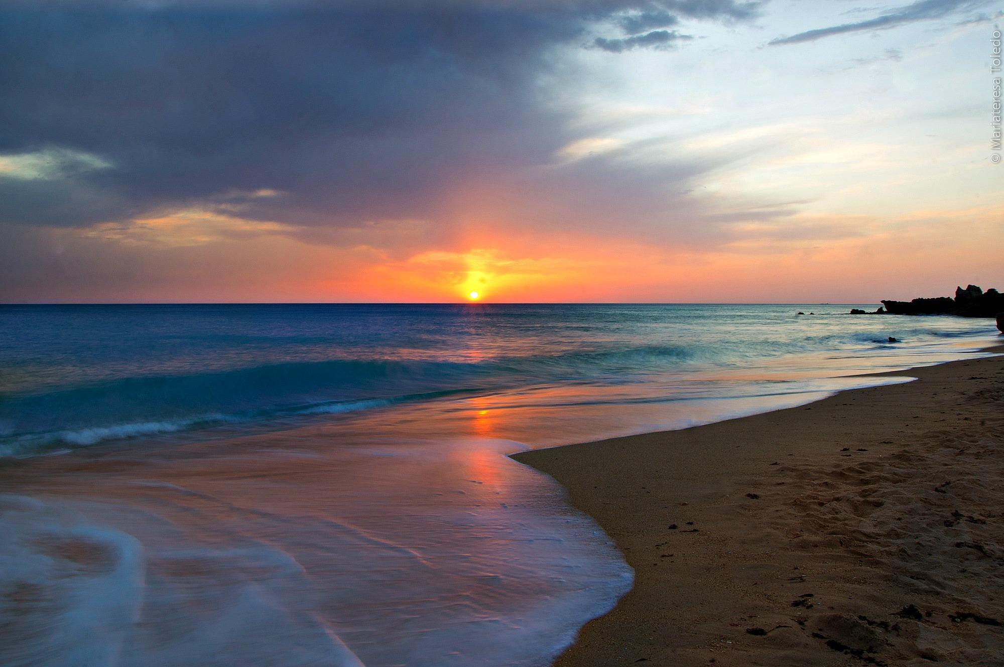 рассвет на берегу моря фото отце