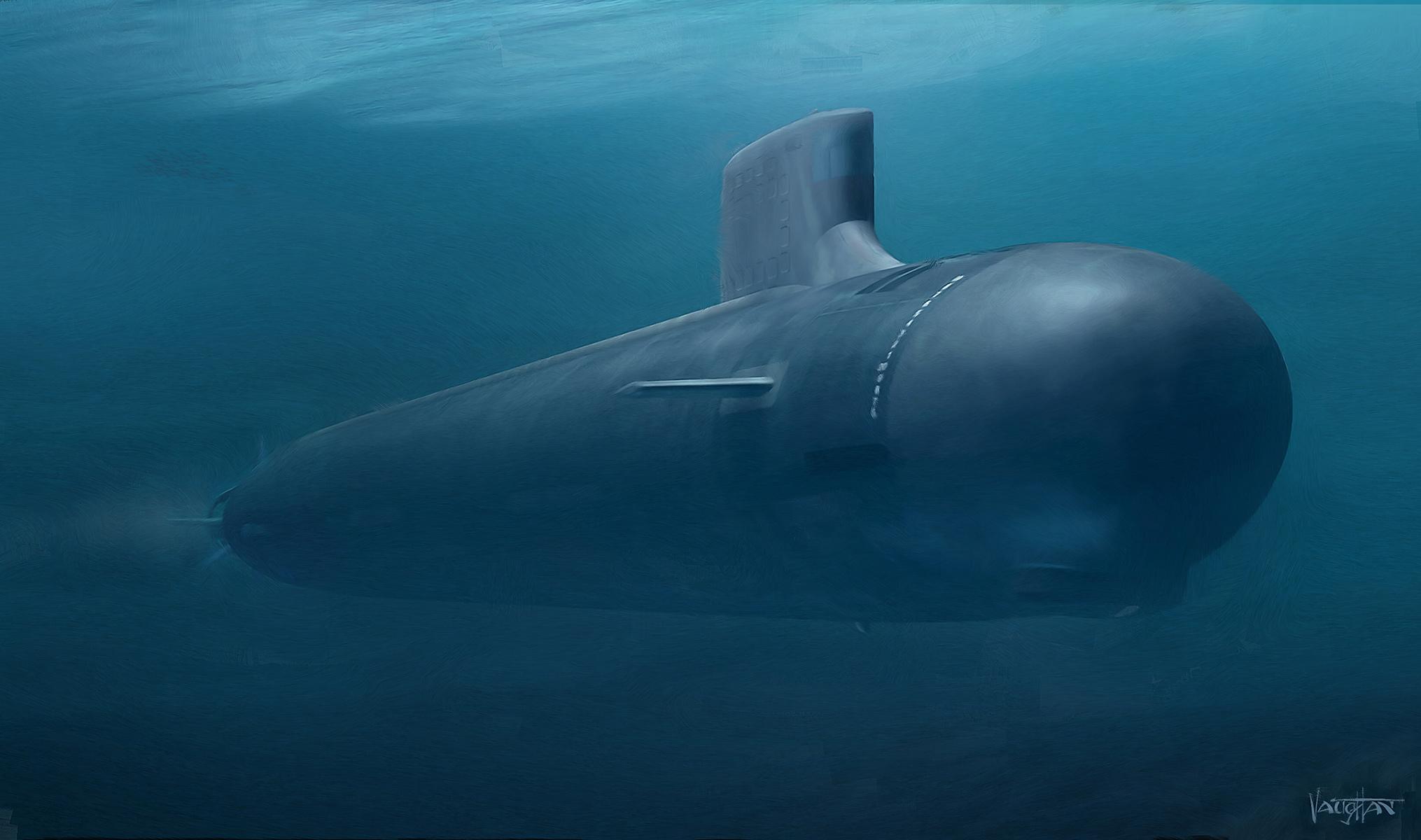 Картинки подводных лодок под водой