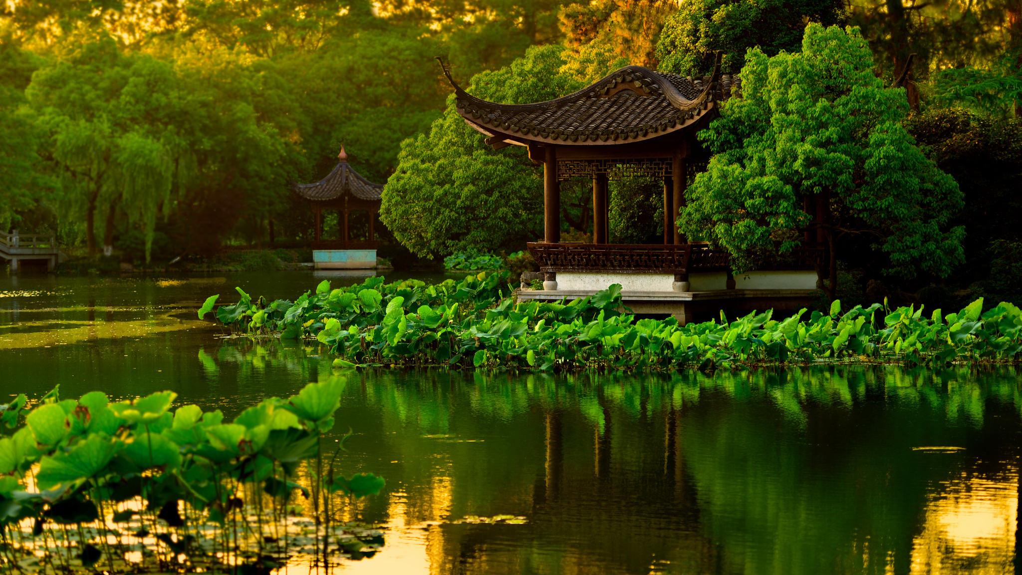 Китайские пейзажи обои для рабочего стола