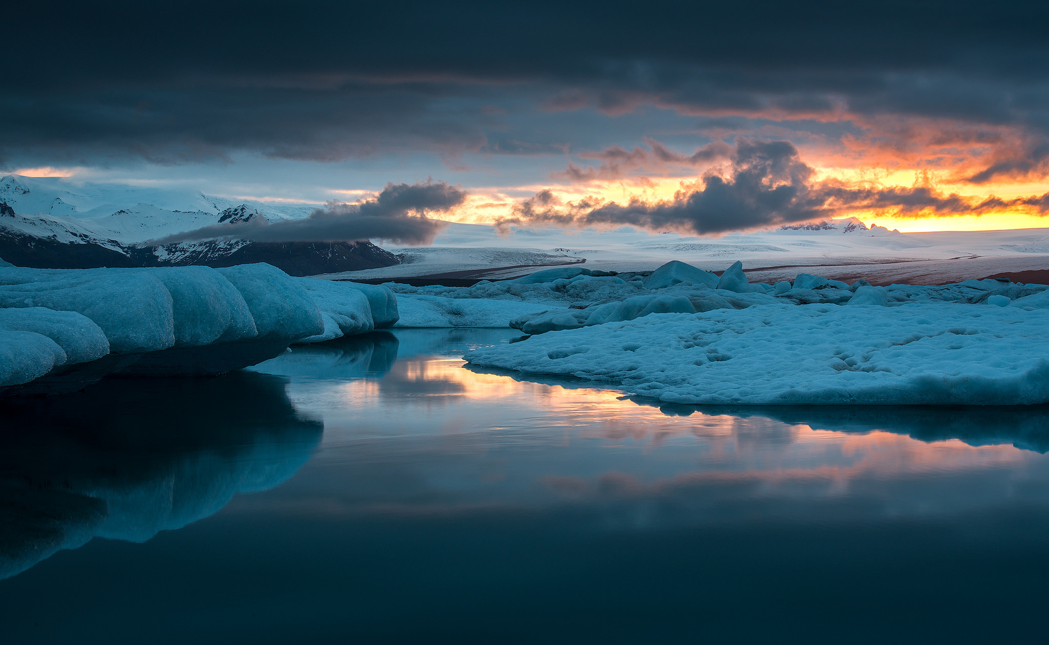 ледяные глыбы небо  № 2863259  скачать
